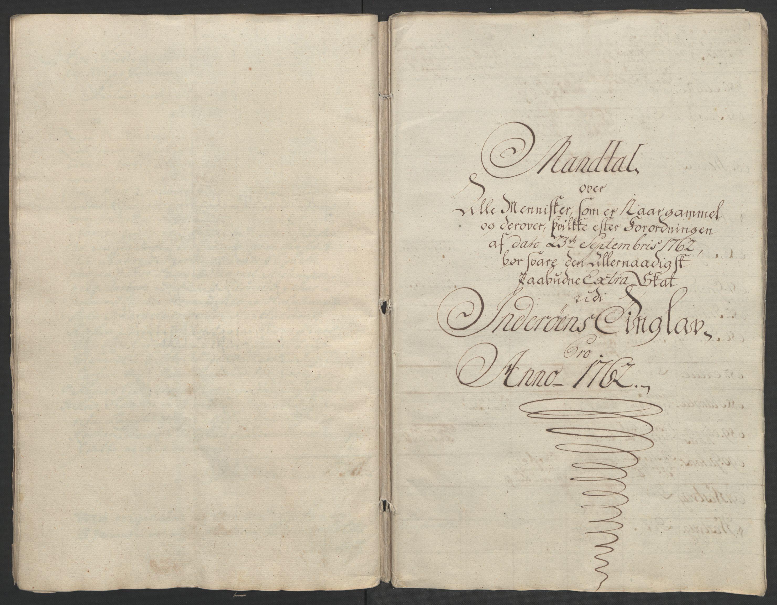 RA, Rentekammeret inntil 1814, Realistisk ordnet avdeling, Ol/L0020: [Gg 10]: Ekstraskatten, 23.09.1762. Romsdal, Strinda, Selbu, Inderøy., 1762-1764, s. 32