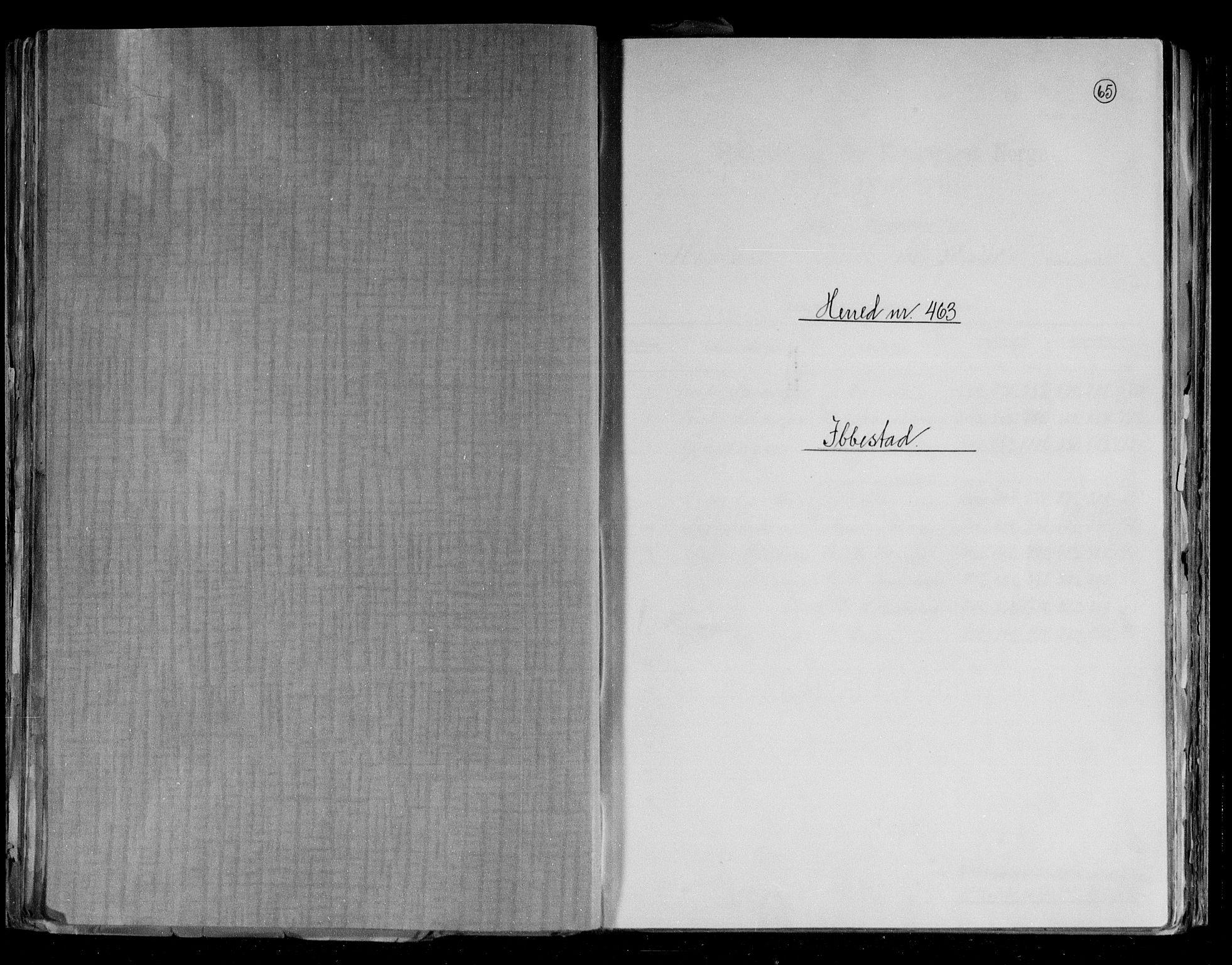 RA, Folketelling 1891 for 1917 Ibestad herred, 1891, s. 1