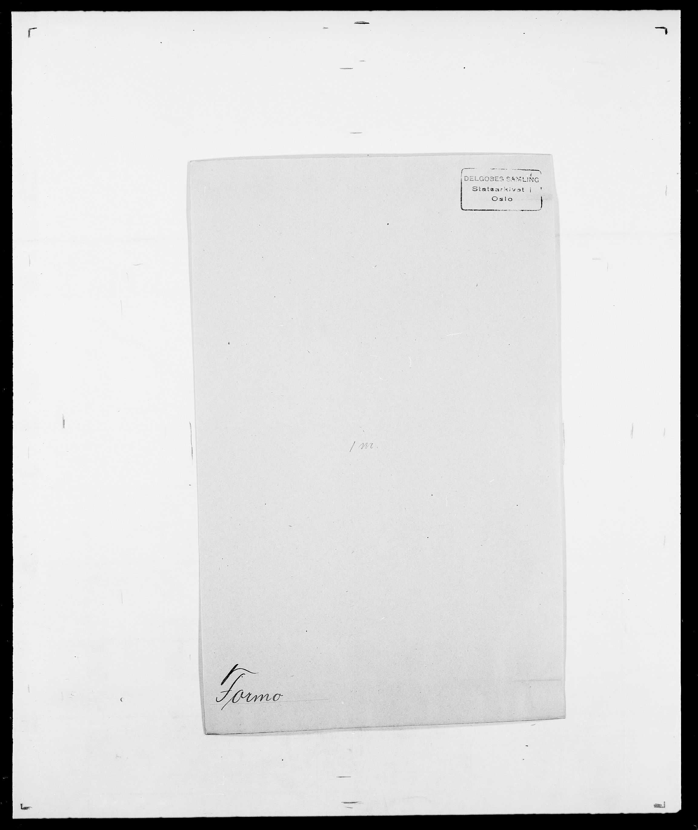 SAO, Delgobe, Charles Antoine - samling, D/Da/L0012: Flor, Floer, Flohr - Fritzner, s. 596