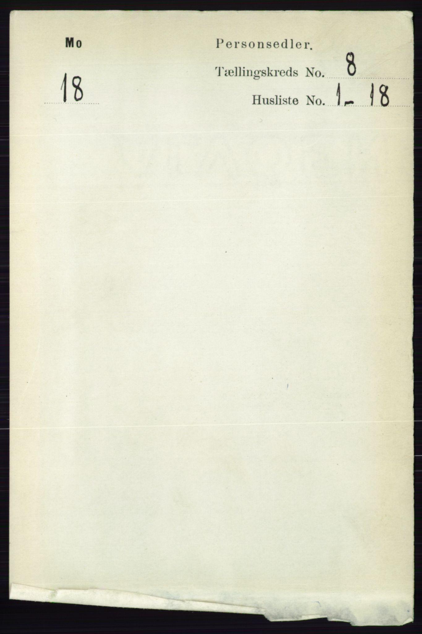 RA, Folketelling 1891 for 0832 Mo herred, 1891, s. 2051