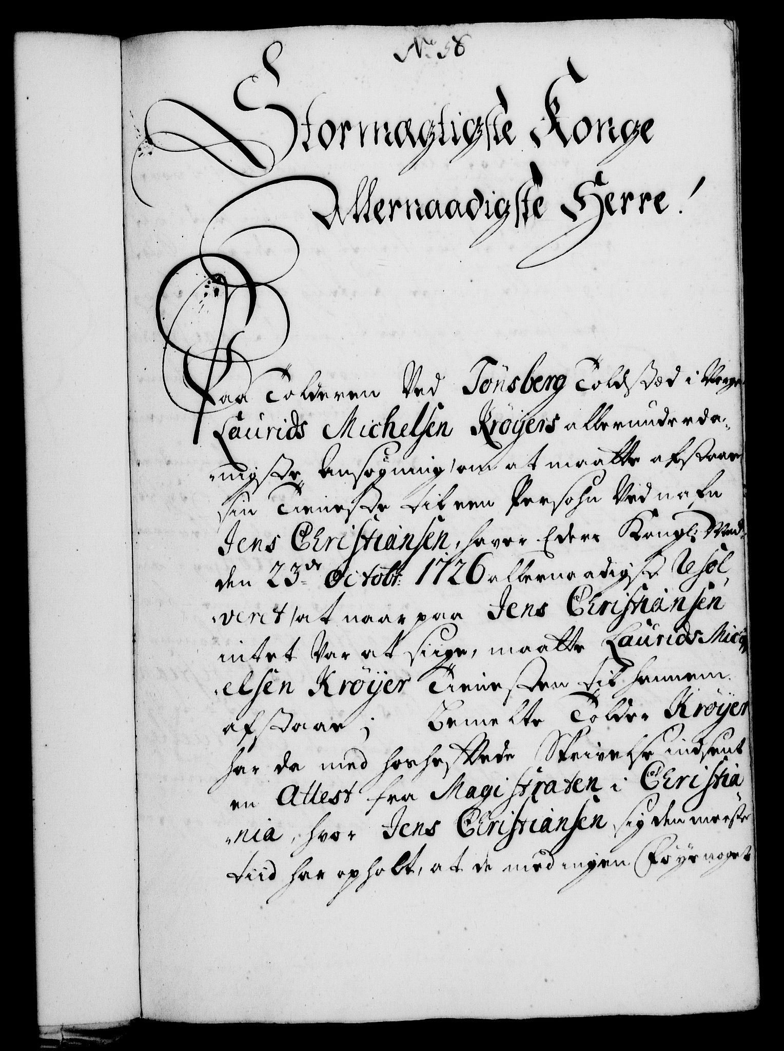RA, Rentekammeret, Kammerkanselliet, G/Gf/Gfa/L0010: Norsk relasjons- og resolusjonsprotokoll (merket RK 52.10), 1727, s. 400