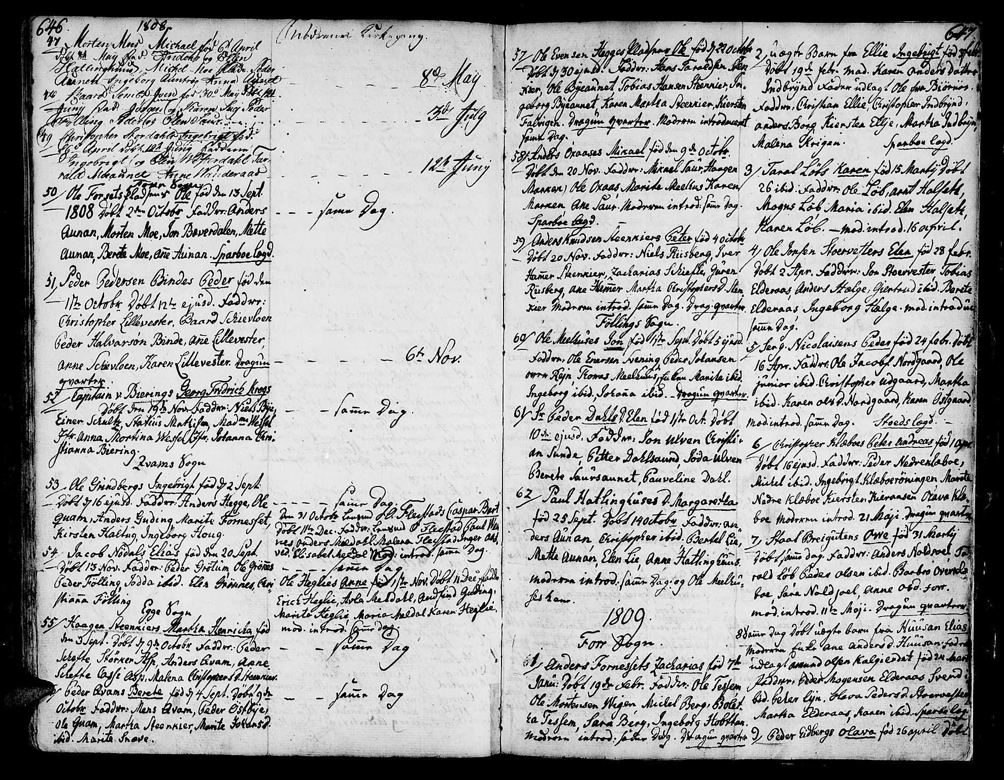 SAT, Ministerialprotokoller, klokkerbøker og fødselsregistre - Nord-Trøndelag, 746/L0440: Ministerialbok nr. 746A02, 1760-1815, s. 646-647