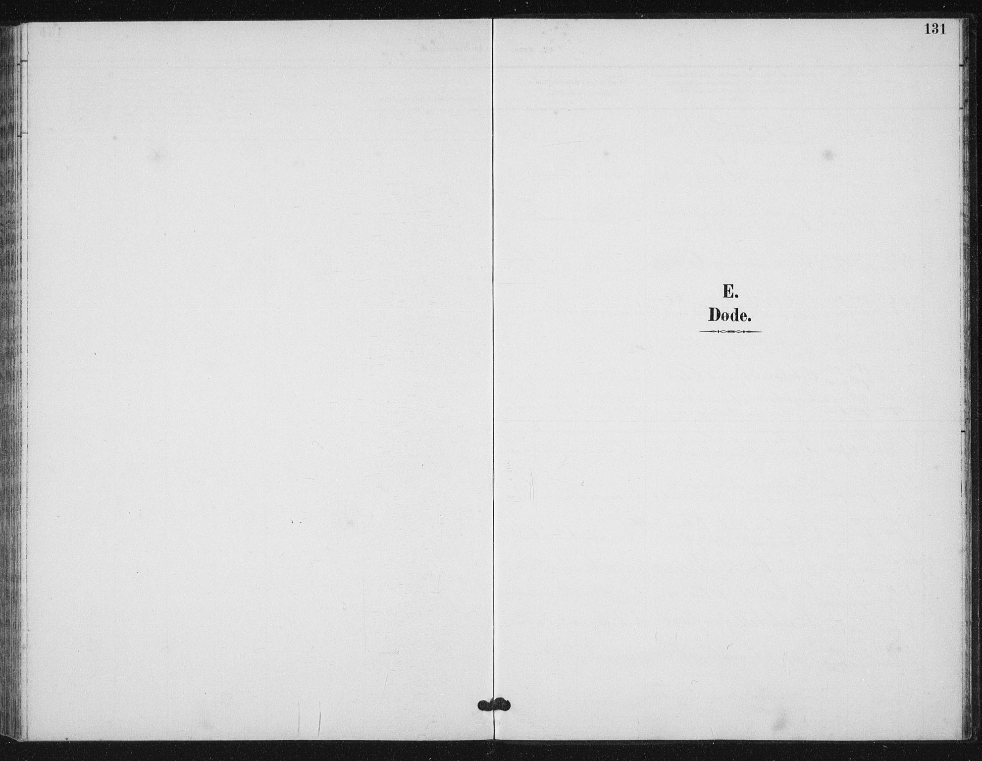 SAT, Ministerialprotokoller, klokkerbøker og fødselsregistre - Sør-Trøndelag, 656/L0698: Klokkerbok nr. 656C04, 1890-1904, s. 131
