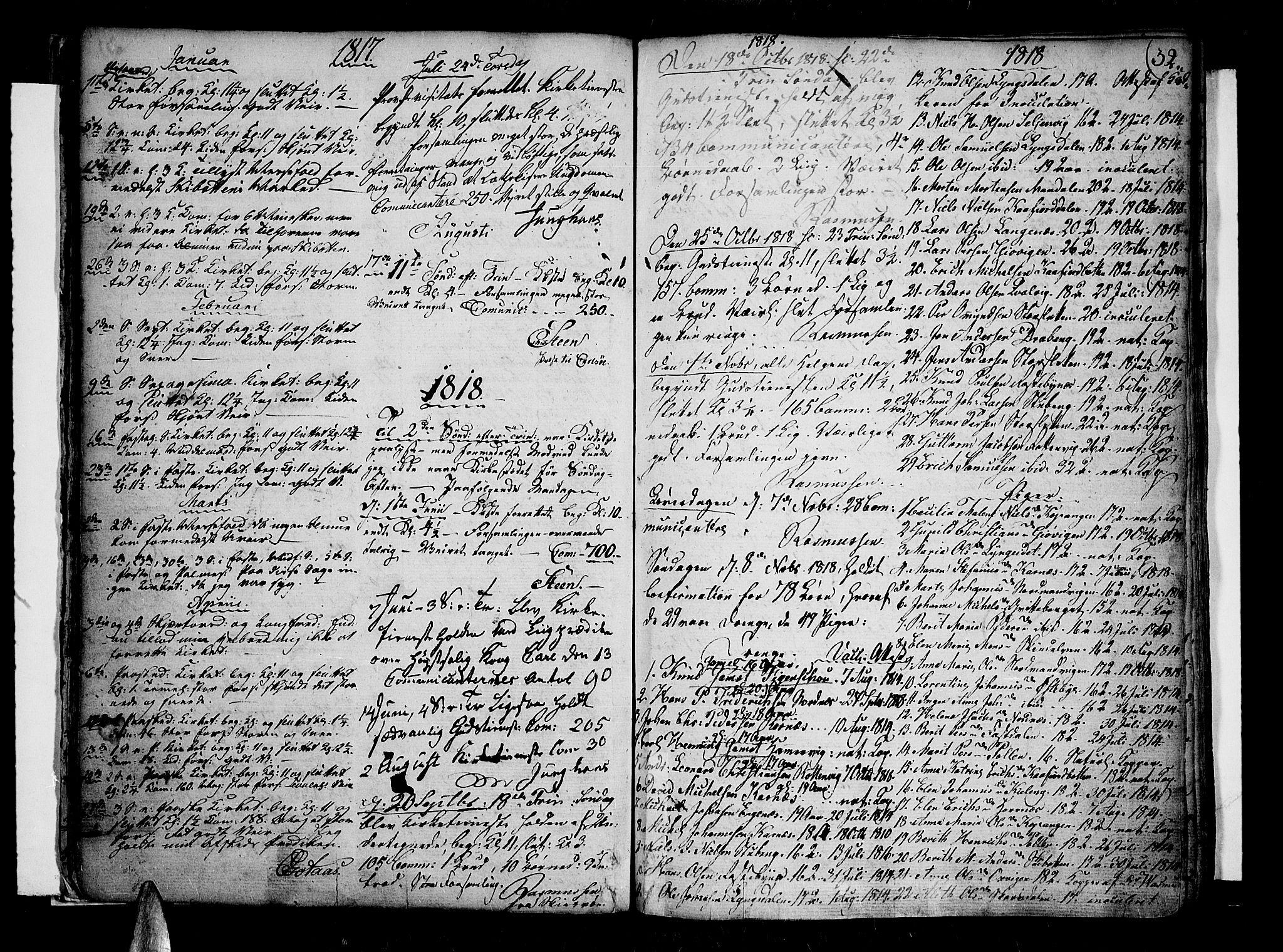 SATØ, Lyngen sokneprestembete, Ministerialbok nr. 2, 1785-1840, s. 32