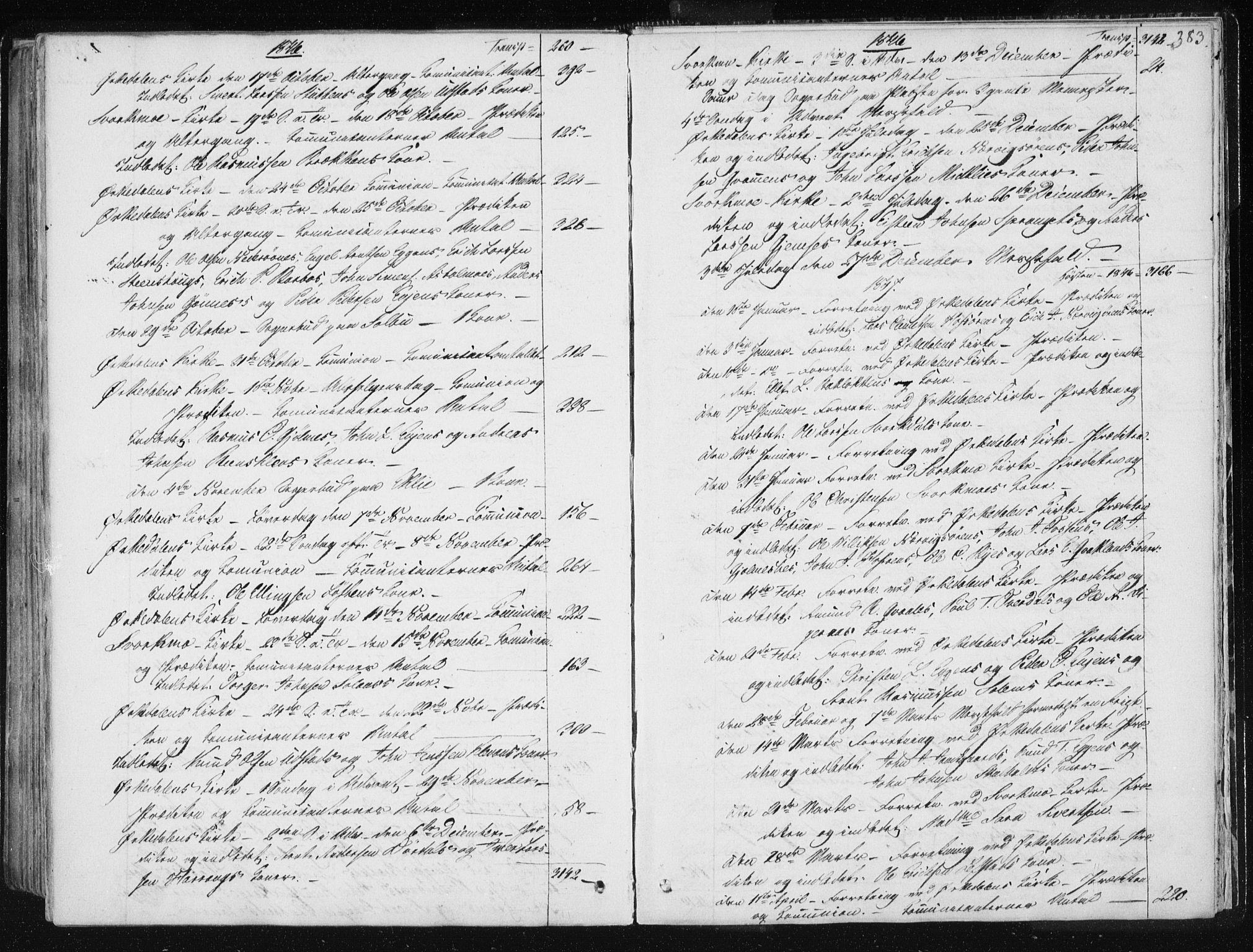 SAT, Ministerialprotokoller, klokkerbøker og fødselsregistre - Sør-Trøndelag, 668/L0805: Ministerialbok nr. 668A05, 1840-1853, s. 383