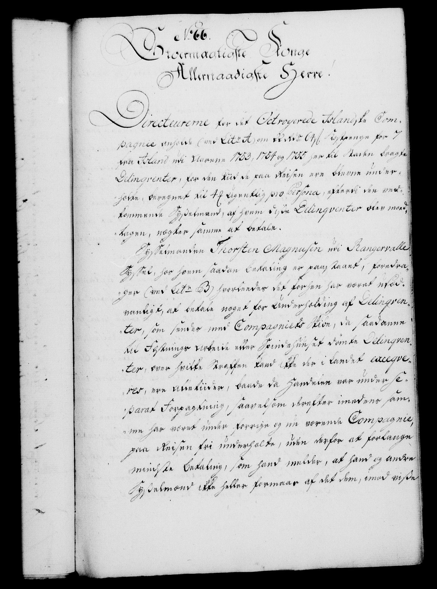 RA, Rentekammeret, Kammerkanselliet, G/Gf/Gfa/L0038: Norsk relasjons- og resolusjonsprotokoll (merket RK 52.38), 1756, s. 335