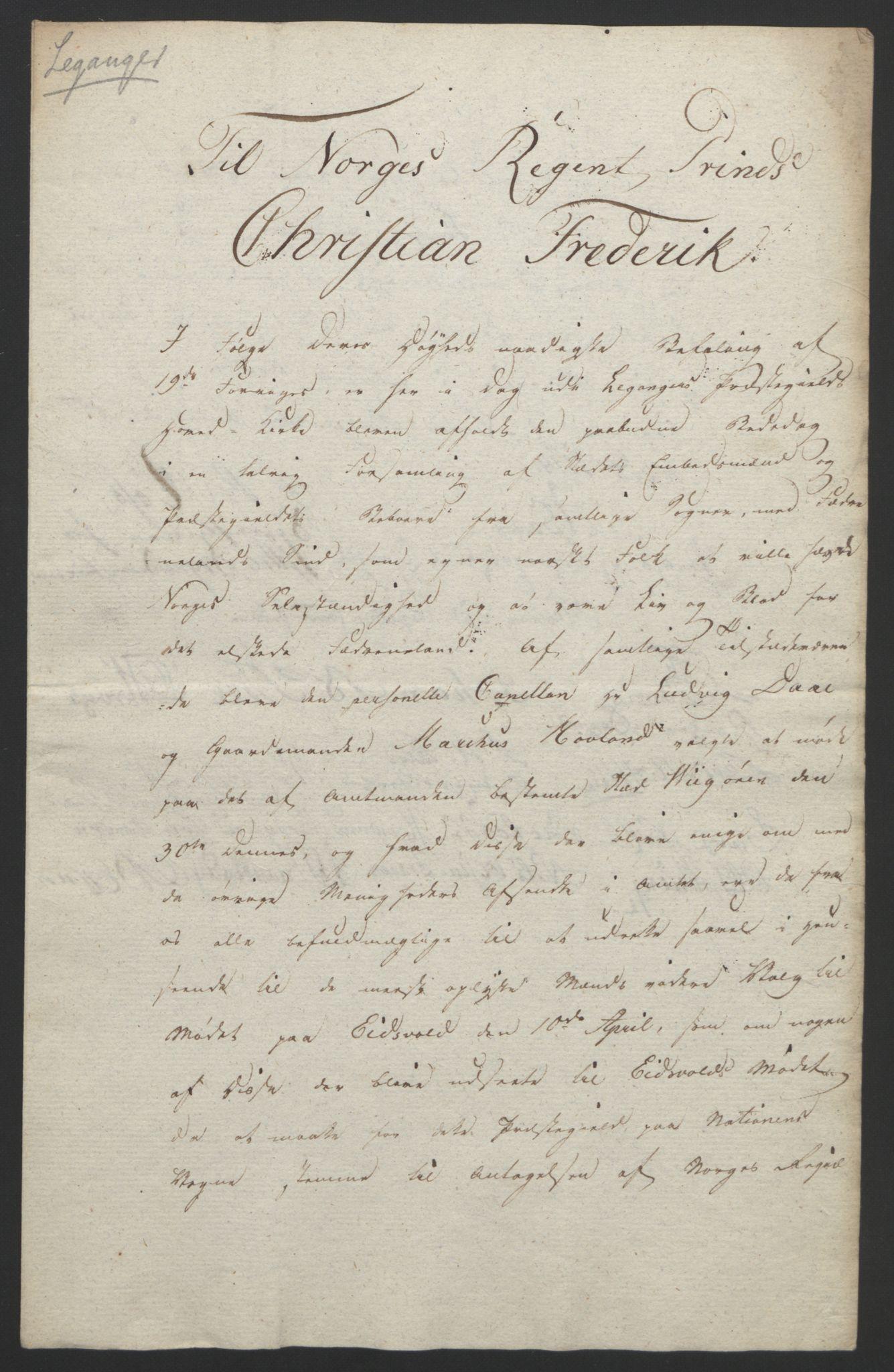 RA, Statsrådssekretariatet, D/Db/L0008: Fullmakter for Eidsvollsrepresentantene i 1814. , 1814, s. 336