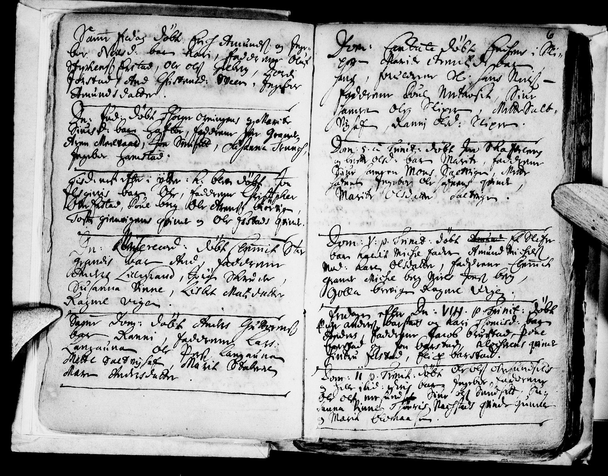 SAT, Ministerialprotokoller, klokkerbøker og fødselsregistre - Nord-Trøndelag, 722/L0214: Ministerialbok nr. 722A01, 1692-1718, s. 6