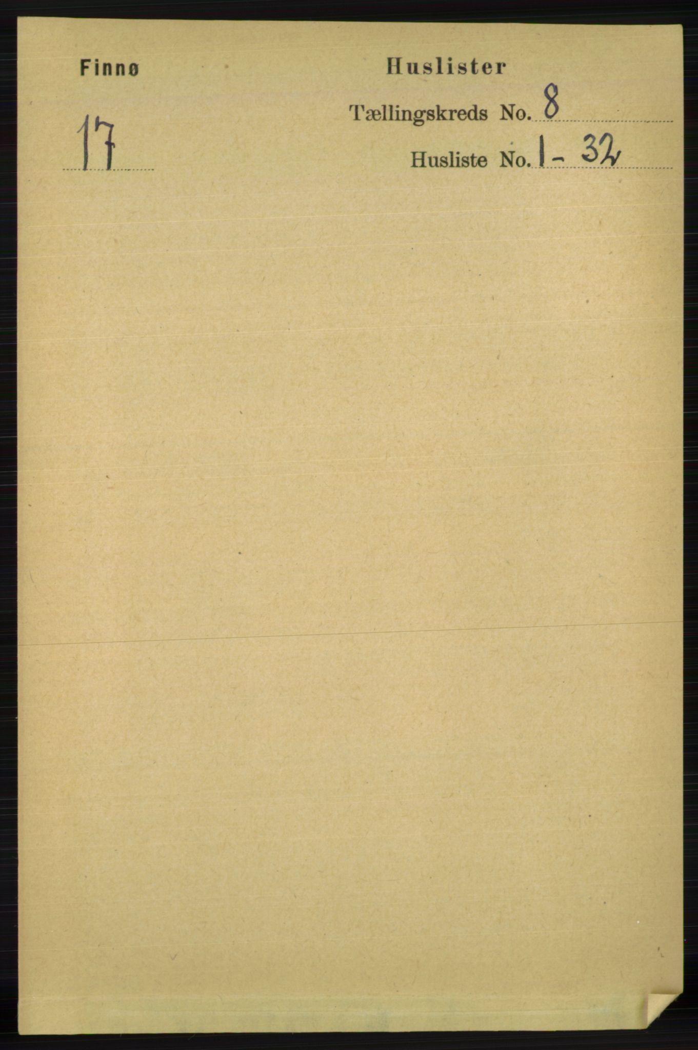 RA, Folketelling 1891 for 1141 Finnøy herred, 1891, s. 1649