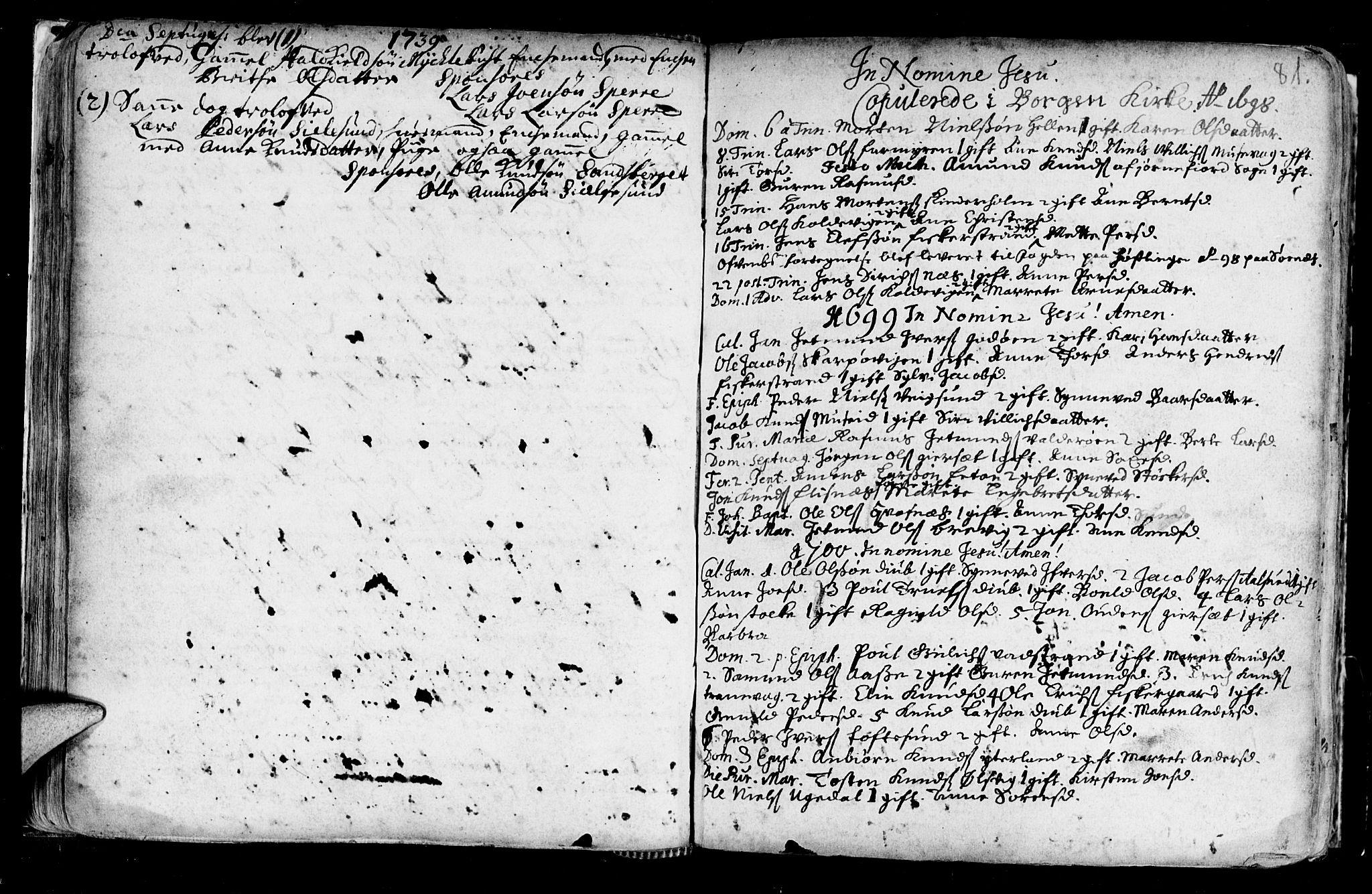 SAT, Ministerialprotokoller, klokkerbøker og fødselsregistre - Møre og Romsdal, 528/L0390: Ministerialbok nr. 528A01, 1698-1739, s. 80-81