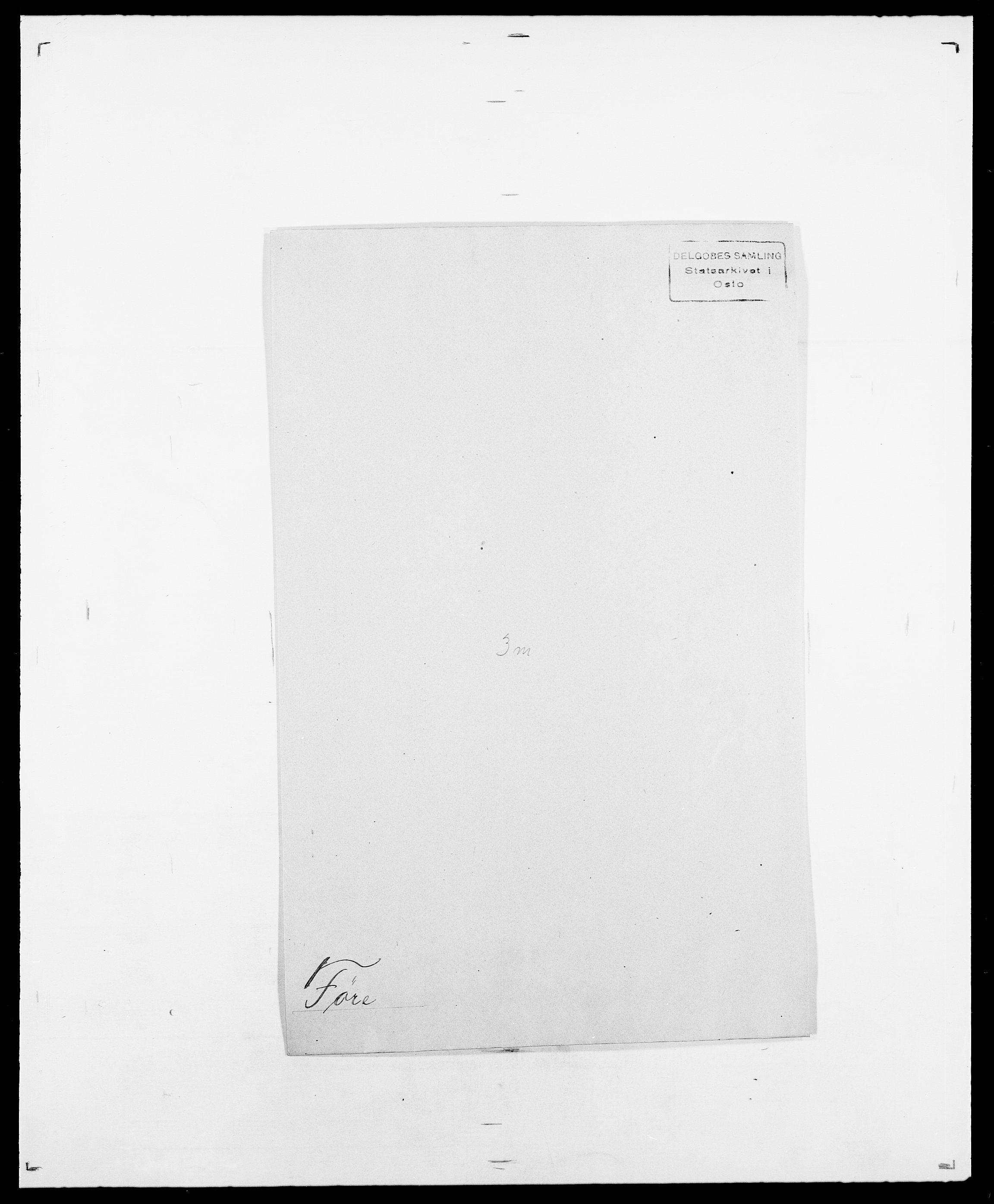SAO, Delgobe, Charles Antoine - samling, D/Da/L0013: Forbos - Geving, s. 293