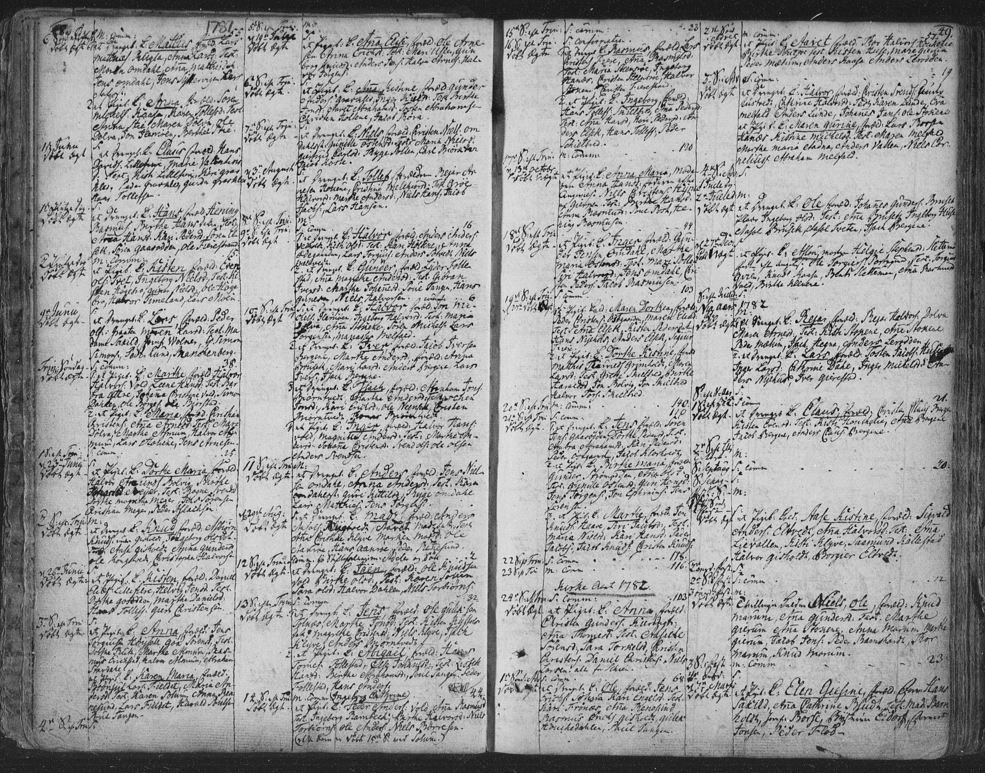 SAKO, Solum kirkebøker, F/Fa/L0003: Ministerialbok nr. I 3, 1761-1814, s. 48-49
