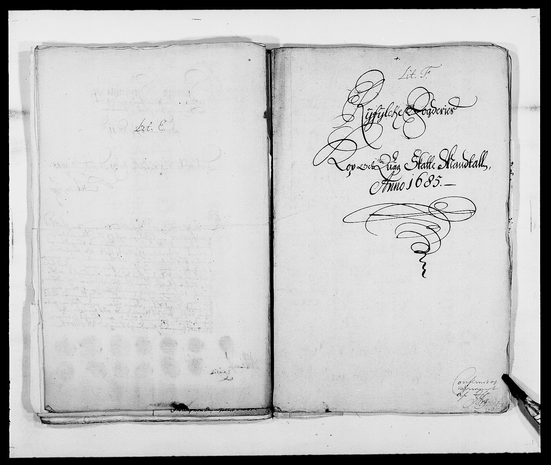 RA, Rentekammeret inntil 1814, Reviderte regnskaper, Fogderegnskap, R47/L2855: Fogderegnskap Ryfylke, 1685-1688, s. 82