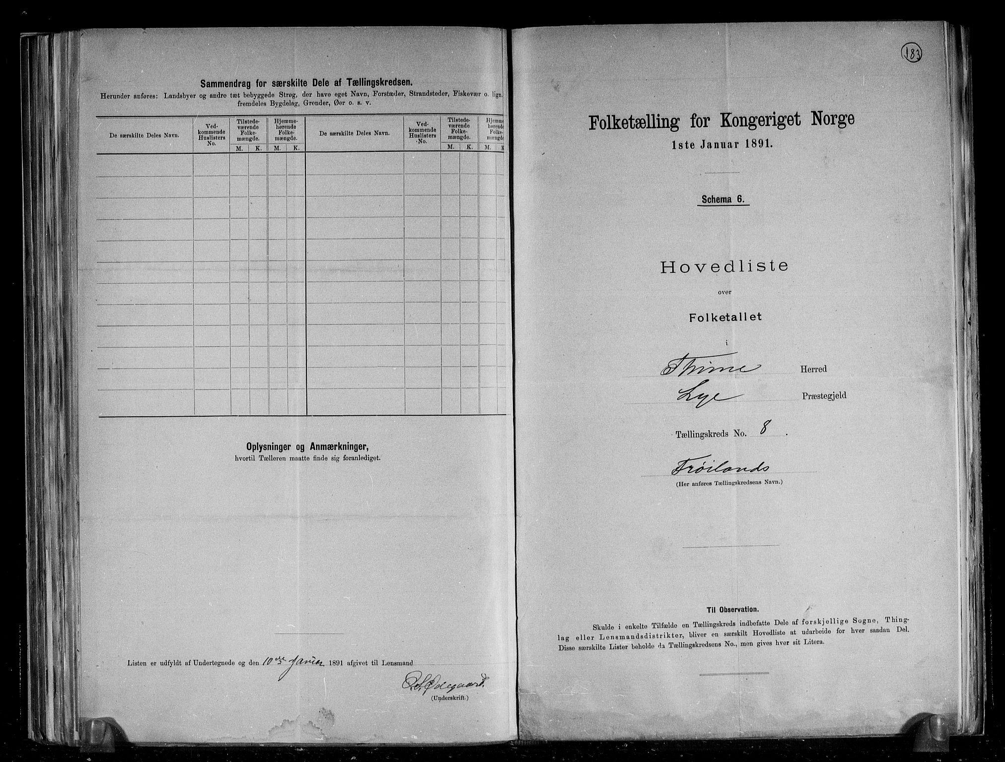 RA, Folketelling 1891 for 1121 Time herred, 1891, s. 21