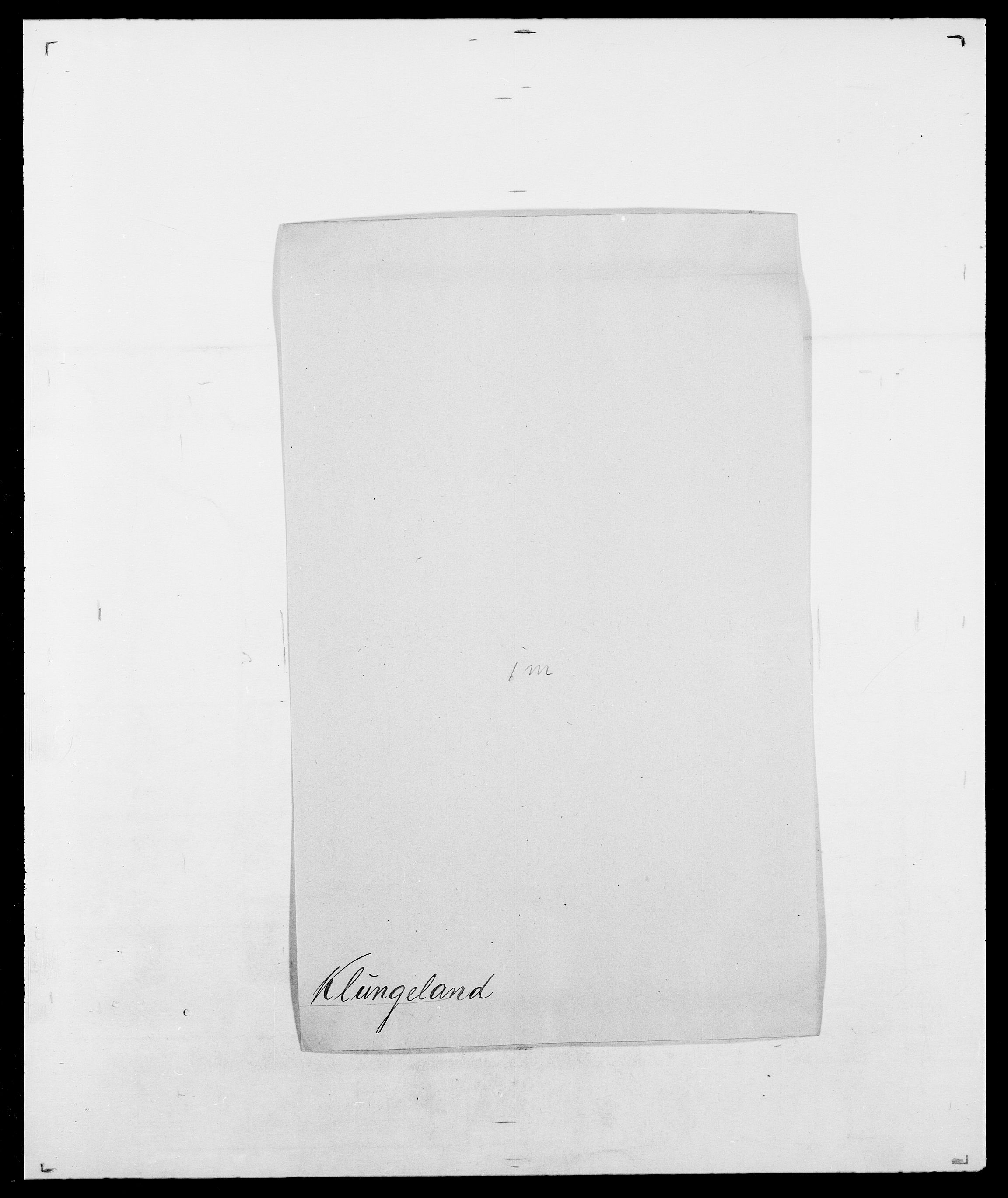 SAO, Delgobe, Charles Antoine - samling, D/Da/L0021: Klagenberg - Kristoft, s. 169