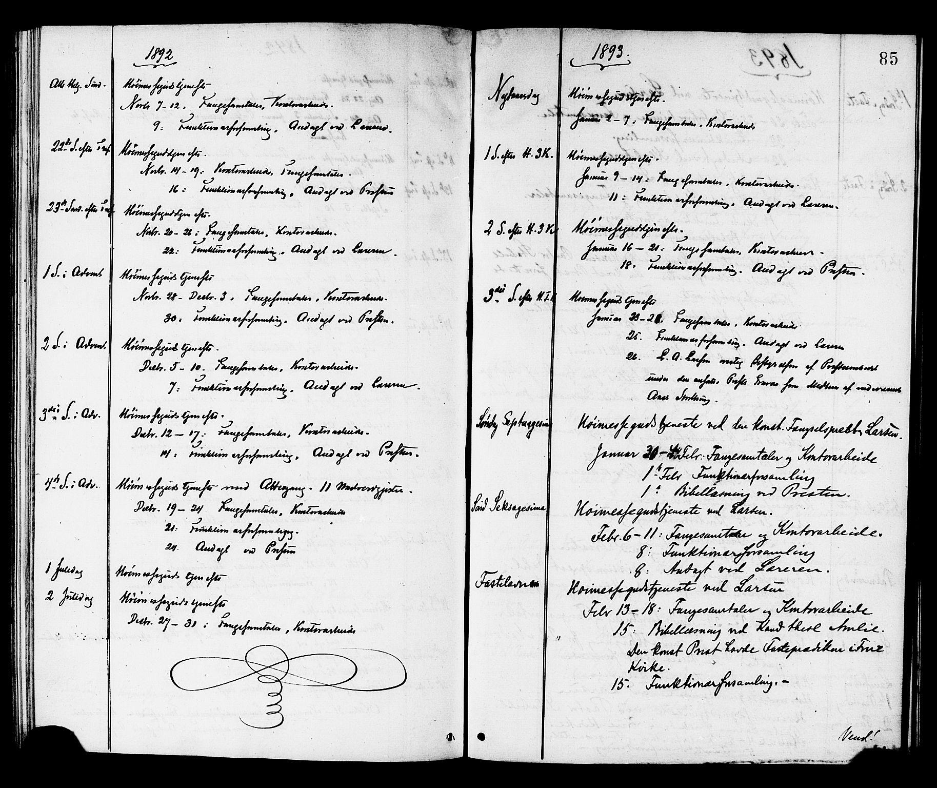 SAT, Ministerialprotokoller, klokkerbøker og fødselsregistre - Sør-Trøndelag, 624/L0482: Ministerialbok nr. 624A03, 1870-1918, s. 85