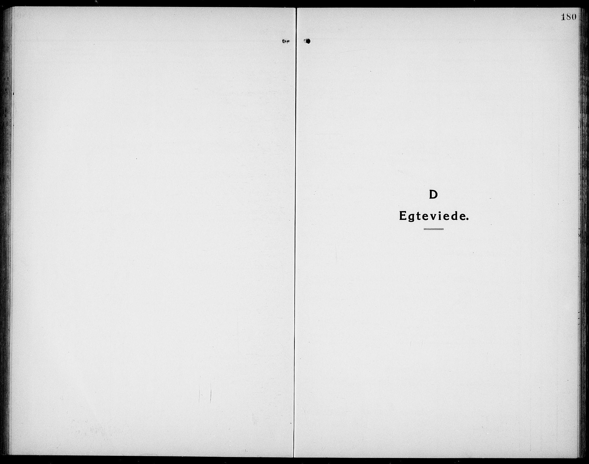 SAKO, Bamble kirkebøker, G/Ga/L0011: Klokkerbok nr. I 11, 1920-1935, s. 180