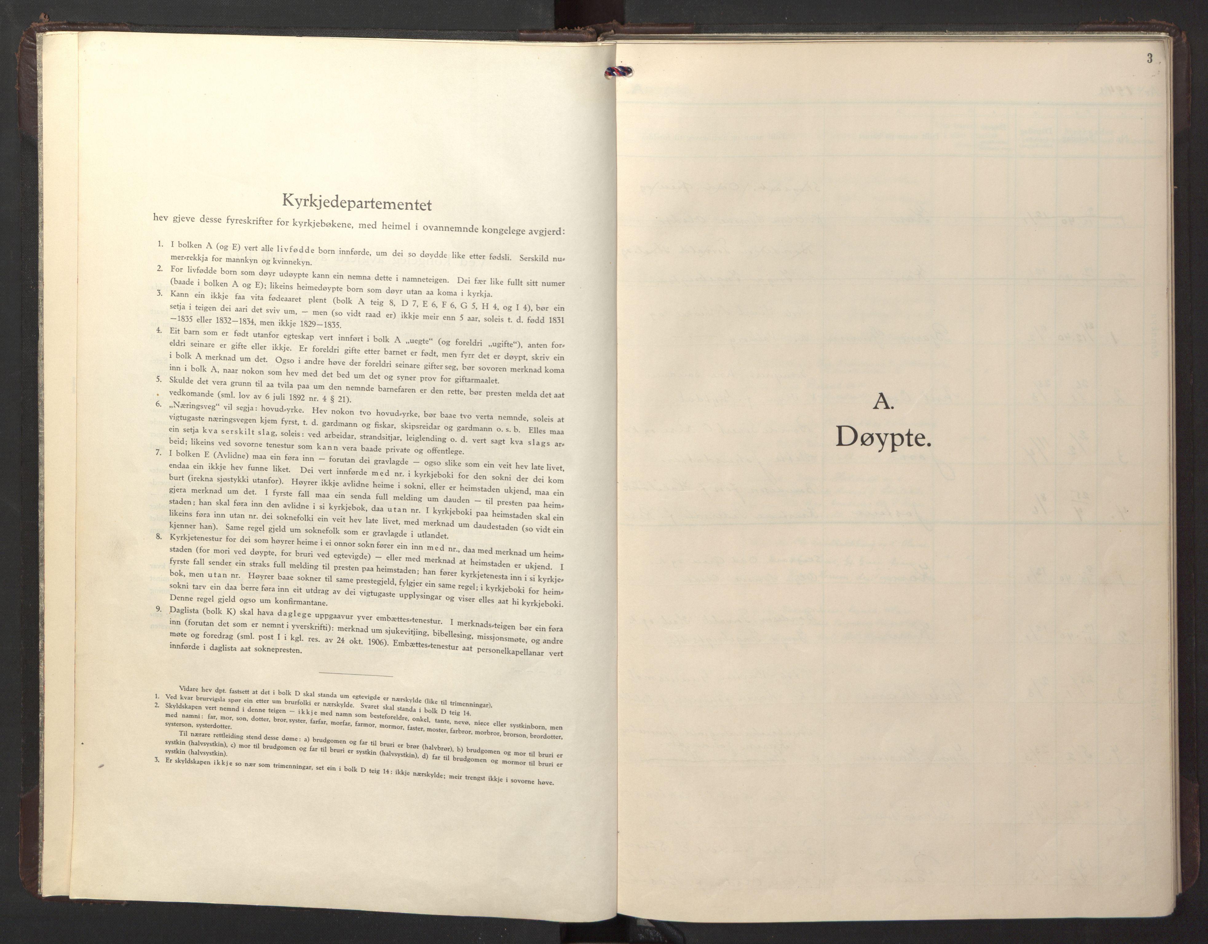 SAT, Ministerialprotokoller, klokkerbøker og fødselsregistre - Sør-Trøndelag, 674/L0878: Klokkerbok nr. 674C05, 1941-1950, s. 3
