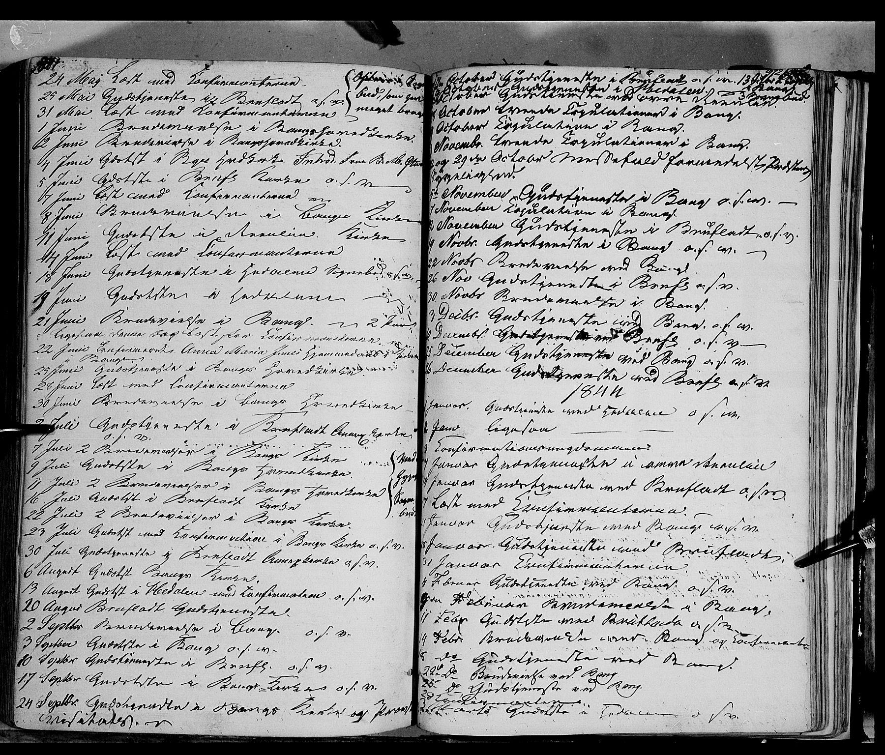 SAH, Sør-Aurdal prestekontor, Ministerialbok nr. 4, 1841-1849, s. 971-972