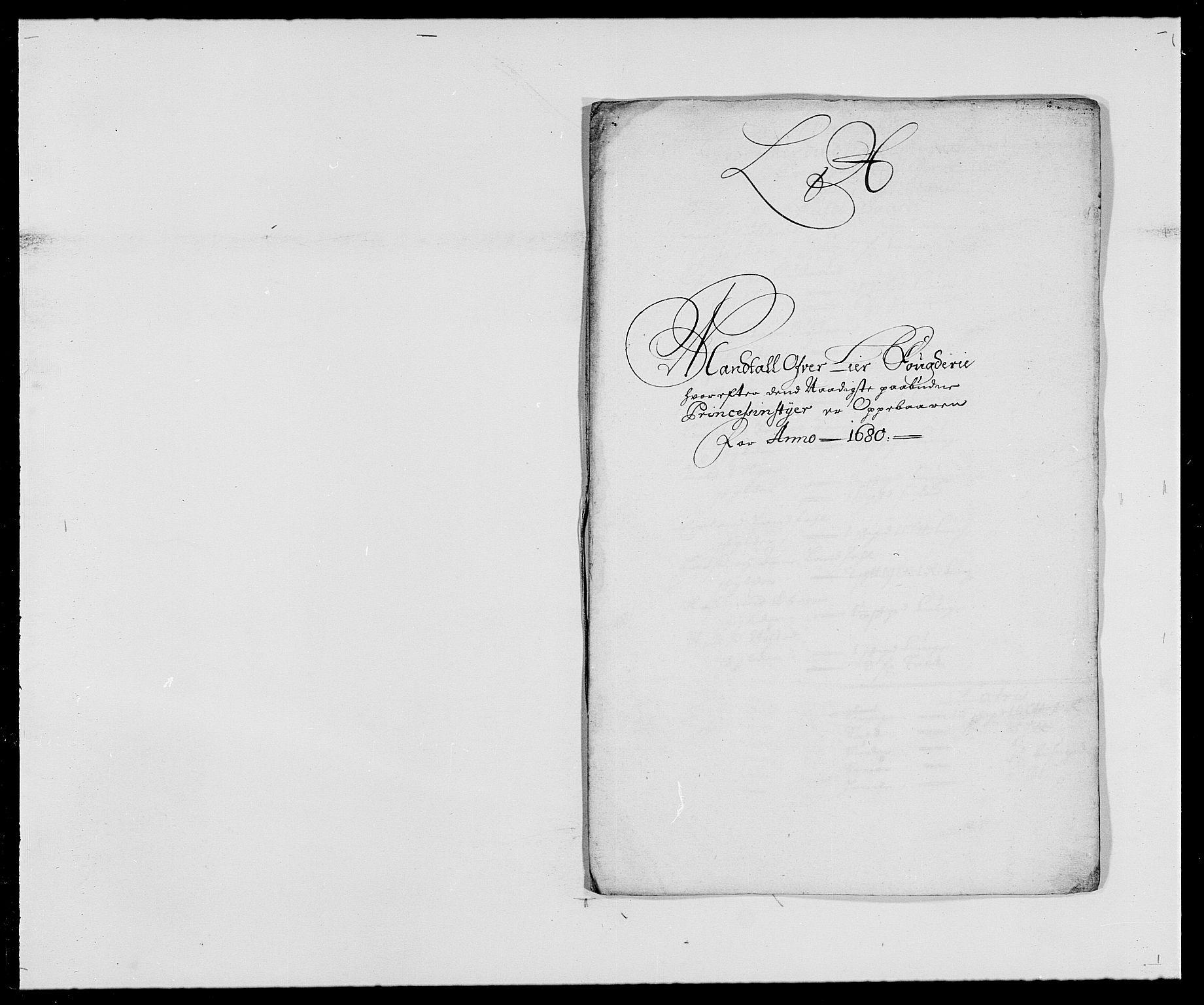 RA, Rentekammeret inntil 1814, Reviderte regnskaper, Fogderegnskap, R27/L1686: Fogderegnskap Lier, 1678-1686, s. 285