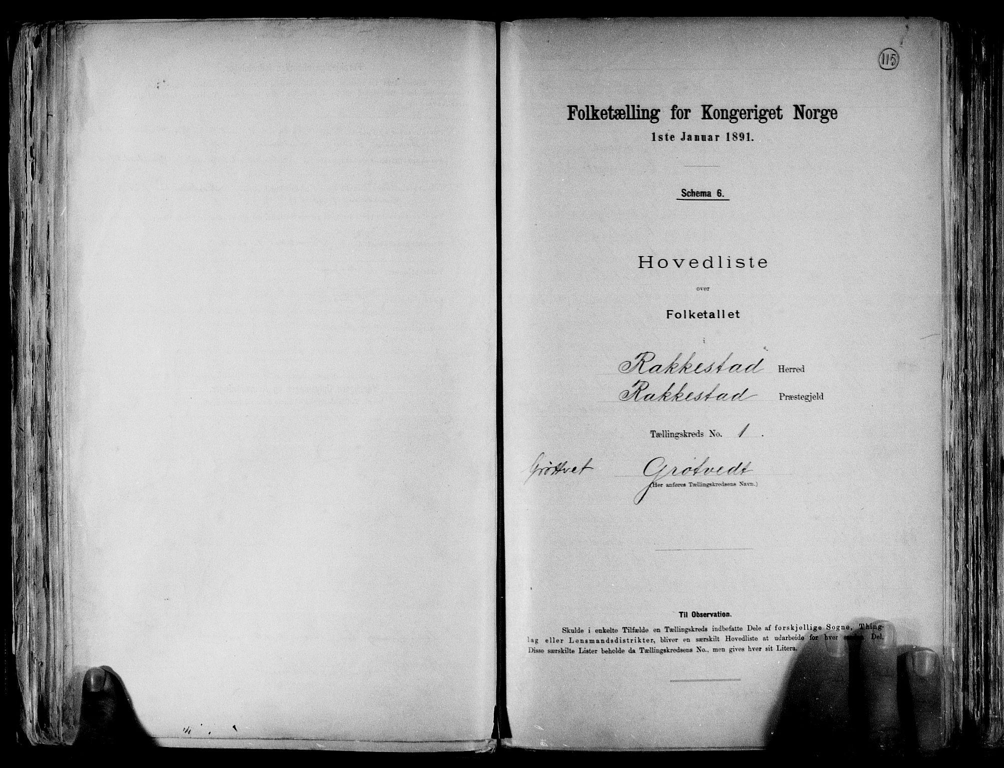 RA, Folketelling 1891 for 0128 Rakkestad herred, 1891, s. 4
