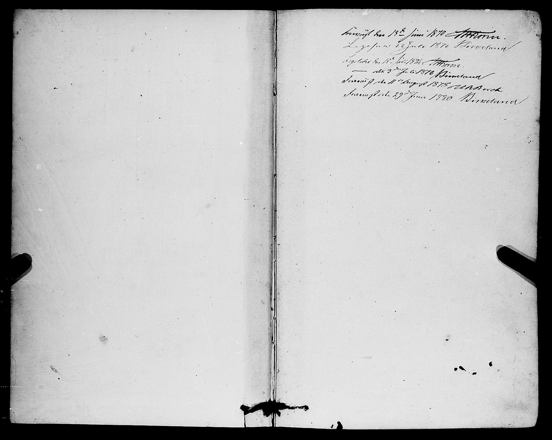 SAB, Eid Sokneprestembete, H/Haa: Ministerialbok nr. A 10, 1867-1878