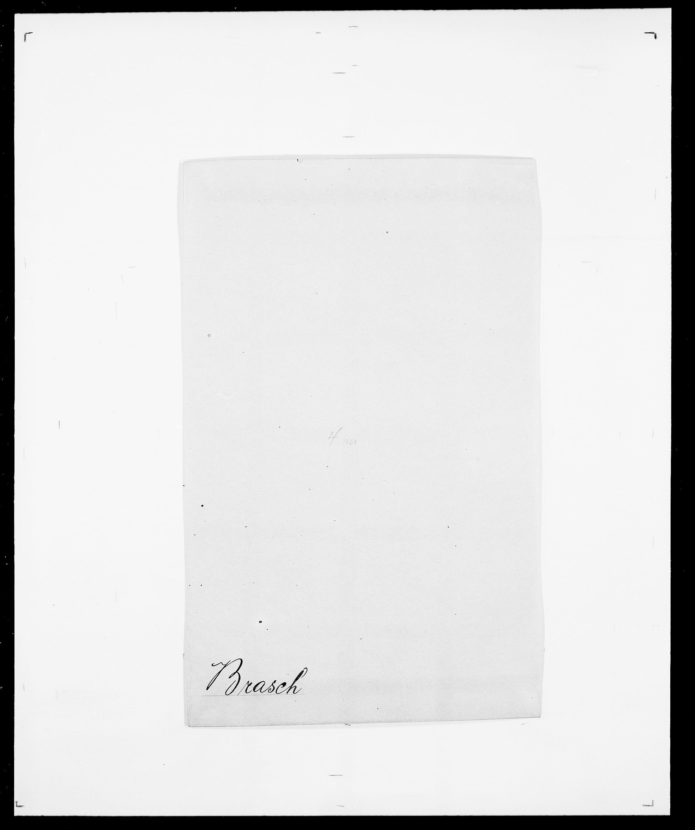 SAO, Delgobe, Charles Antoine - samling, D/Da/L0006: Brambani - Brønø, s. 174