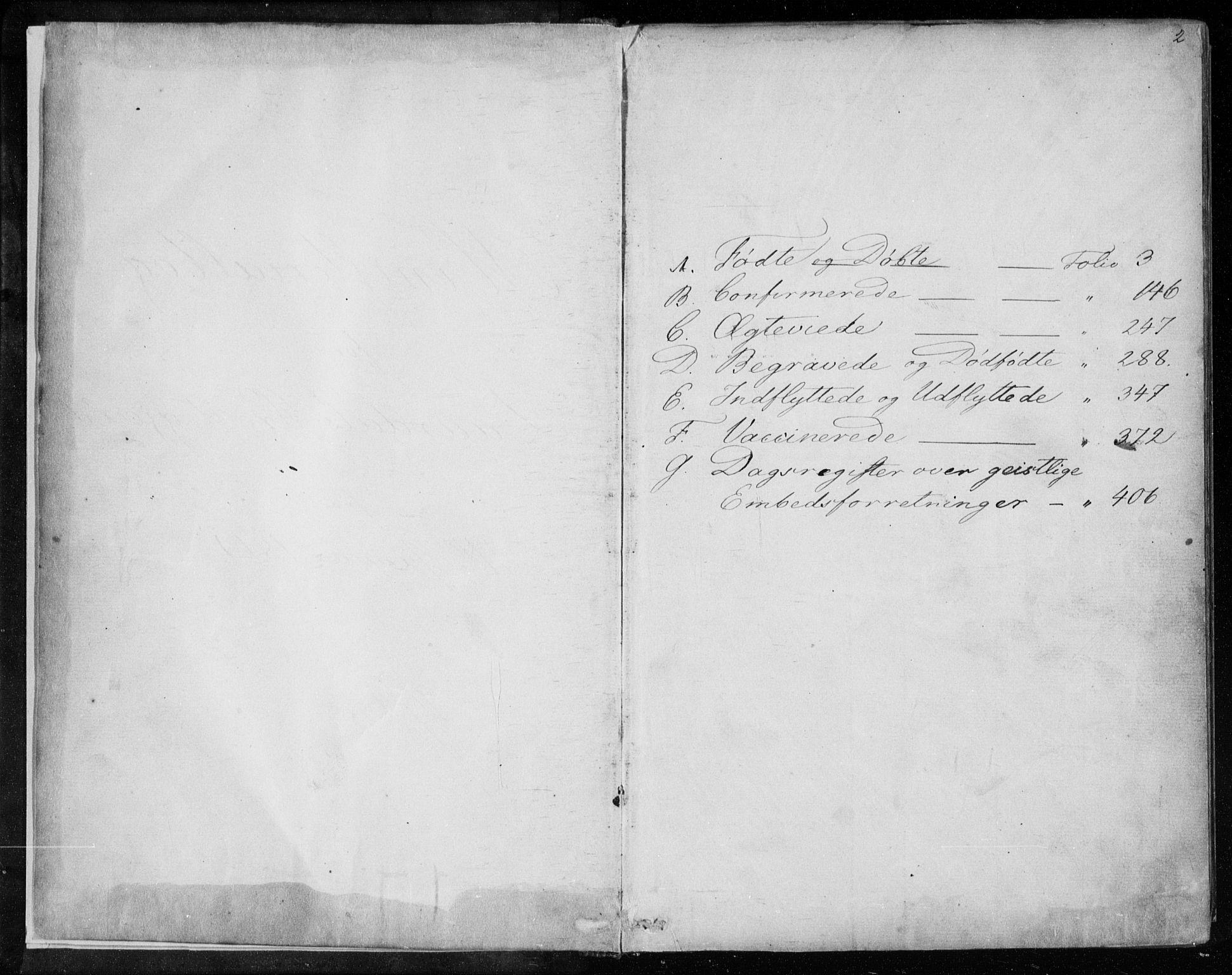 SAKO, Lårdal kirkebøker, F/Fa/L0006: Ministerialbok nr. I 6, 1861-1886, s. 2