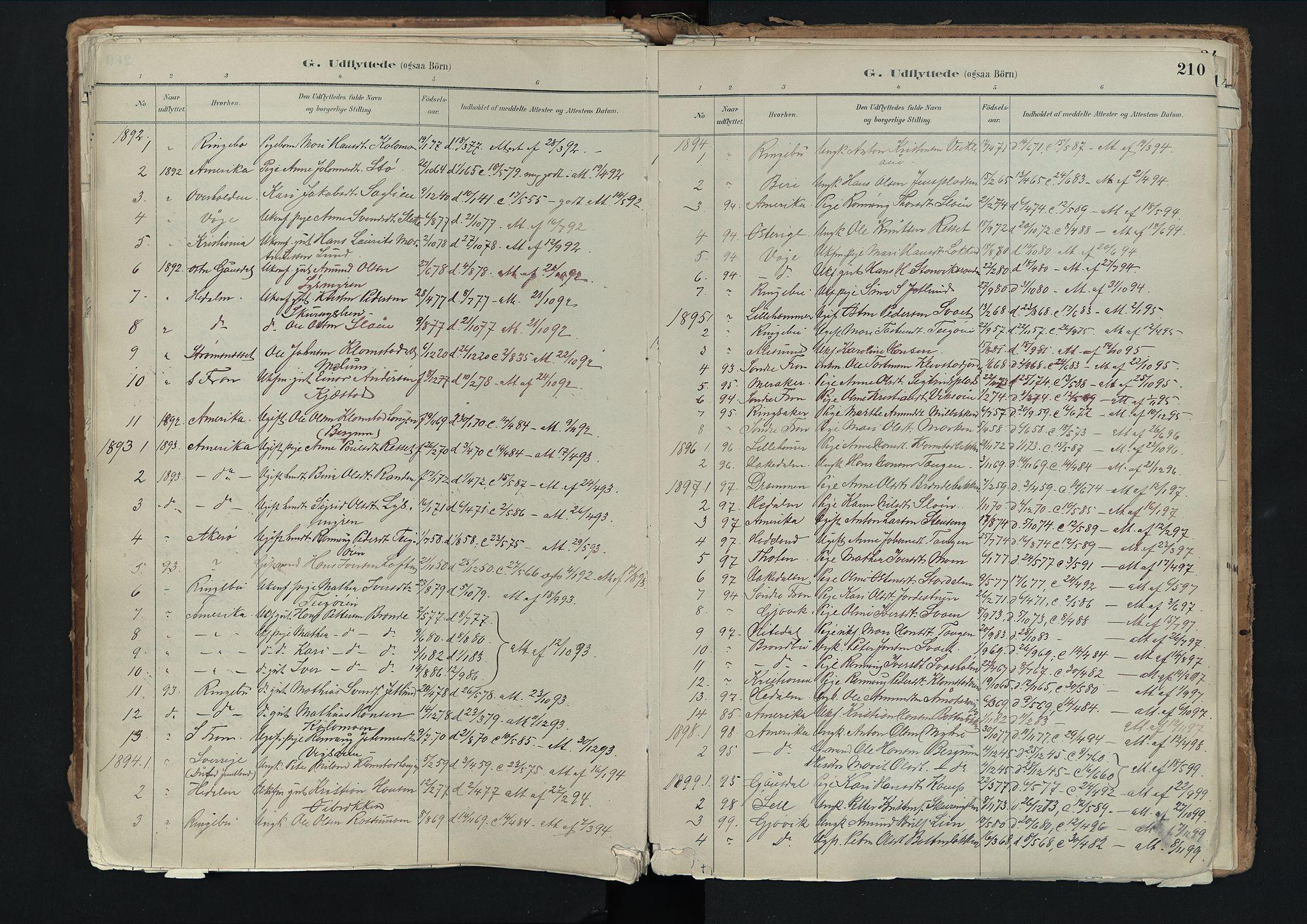 SAH, Nord-Fron prestekontor, Ministerialbok nr. 3, 1884-1914, s. 210