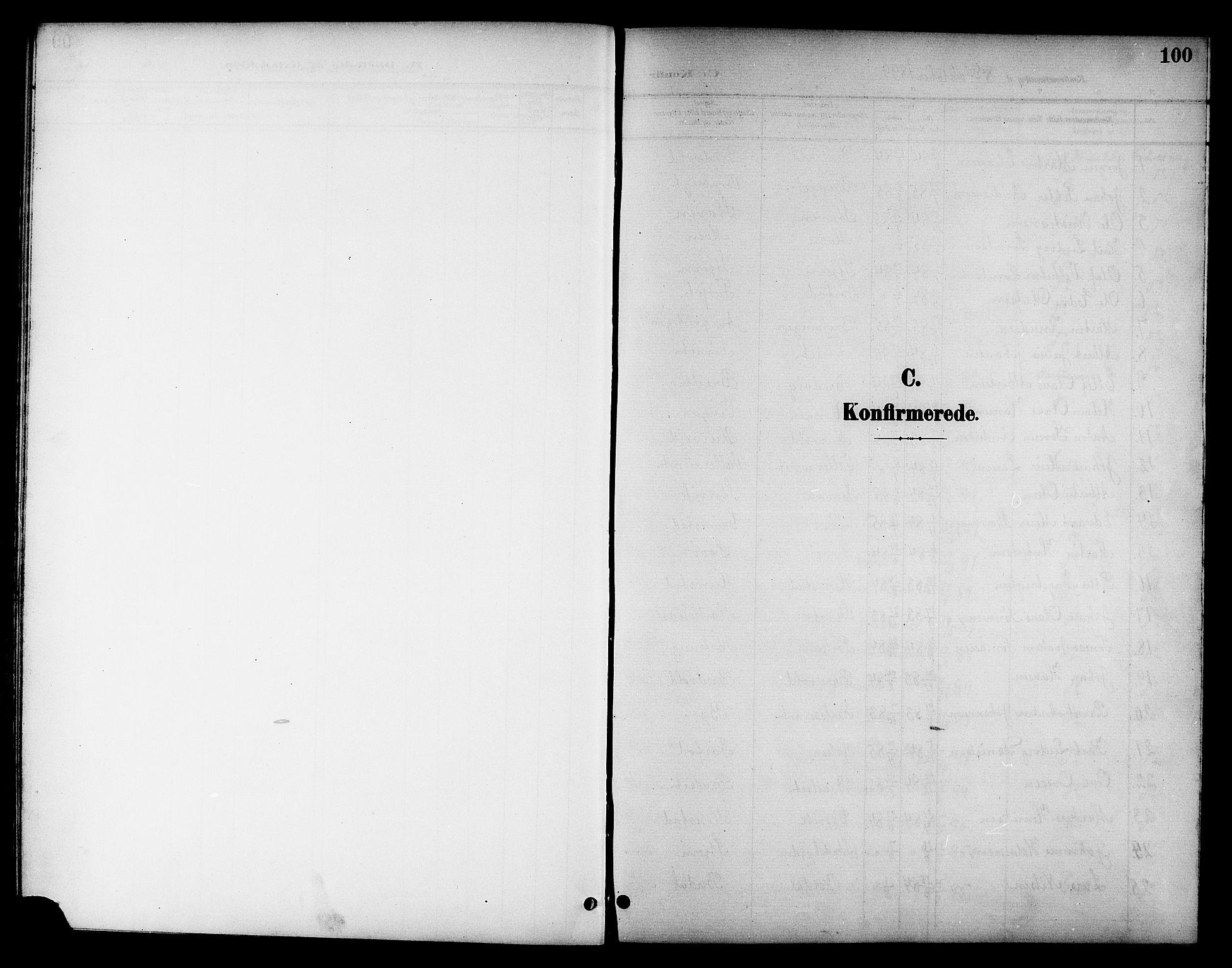 SAT, Ministerialprotokoller, klokkerbøker og fødselsregistre - Sør-Trøndelag, 655/L0688: Klokkerbok nr. 655C04, 1899-1922, s. 100