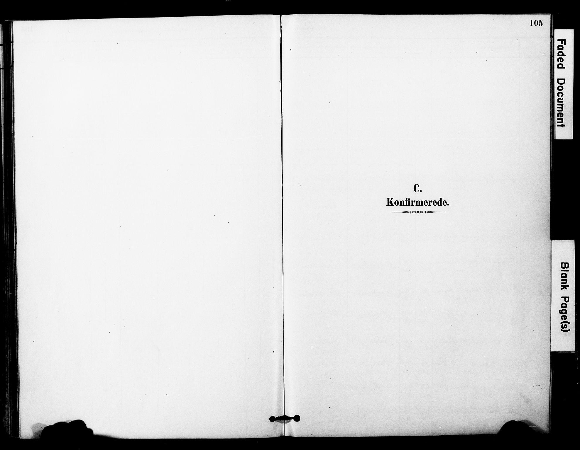 SAT, Ministerialprotokoller, klokkerbøker og fødselsregistre - Nord-Trøndelag, 757/L0505: Ministerialbok nr. 757A01, 1882-1904, s. 105