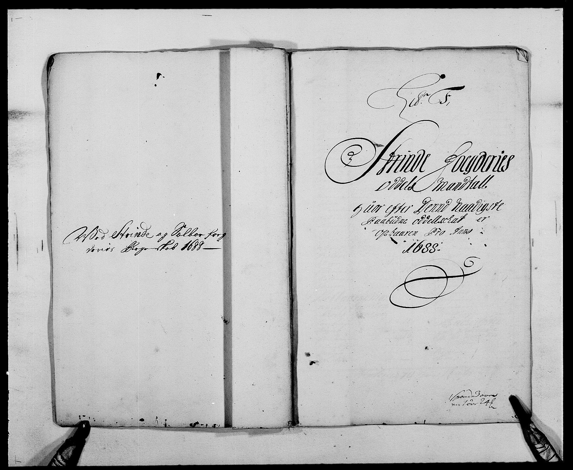 RA, Rentekammeret inntil 1814, Reviderte regnskaper, Fogderegnskap, R61/L4101: Fogderegnskap Strinda og Selbu, 1687-1688, s. 185