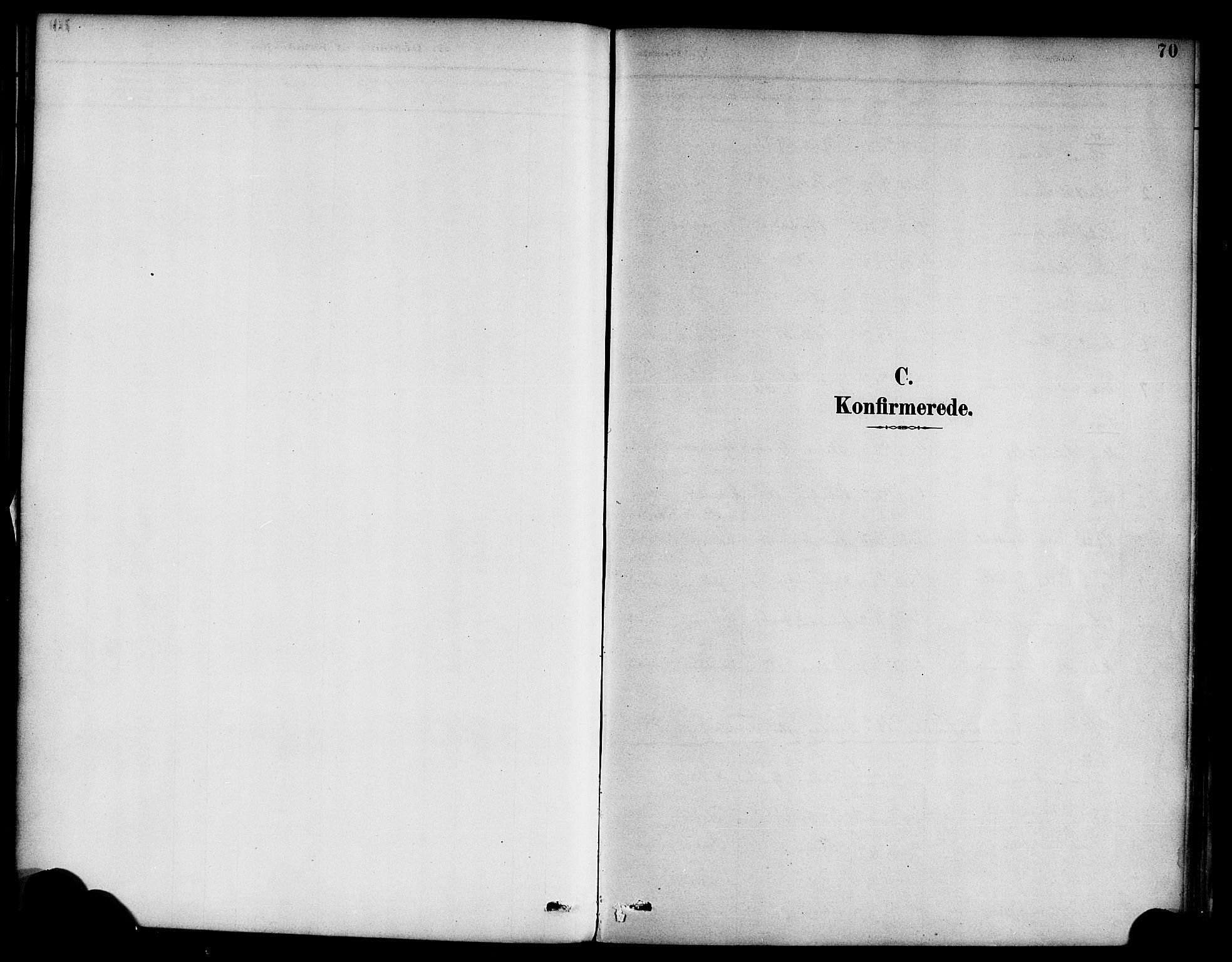 SAB, Hyllestad Sokneprestembete, Ministerialbok nr. D 1, 1886-1905, s. 70