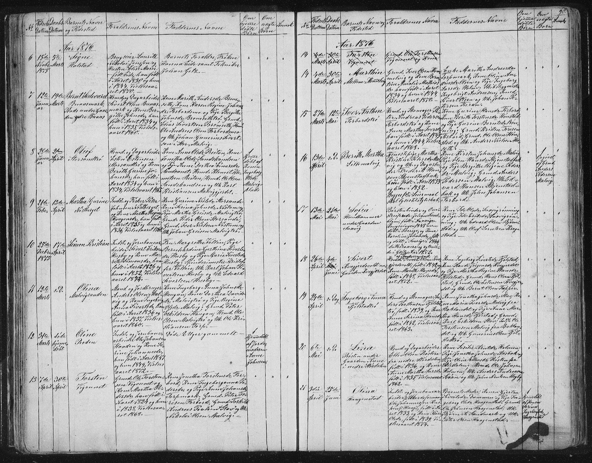 SAT, Ministerialprotokoller, klokkerbøker og fødselsregistre - Sør-Trøndelag, 616/L0406: Ministerialbok nr. 616A03, 1843-1879, s. 90
