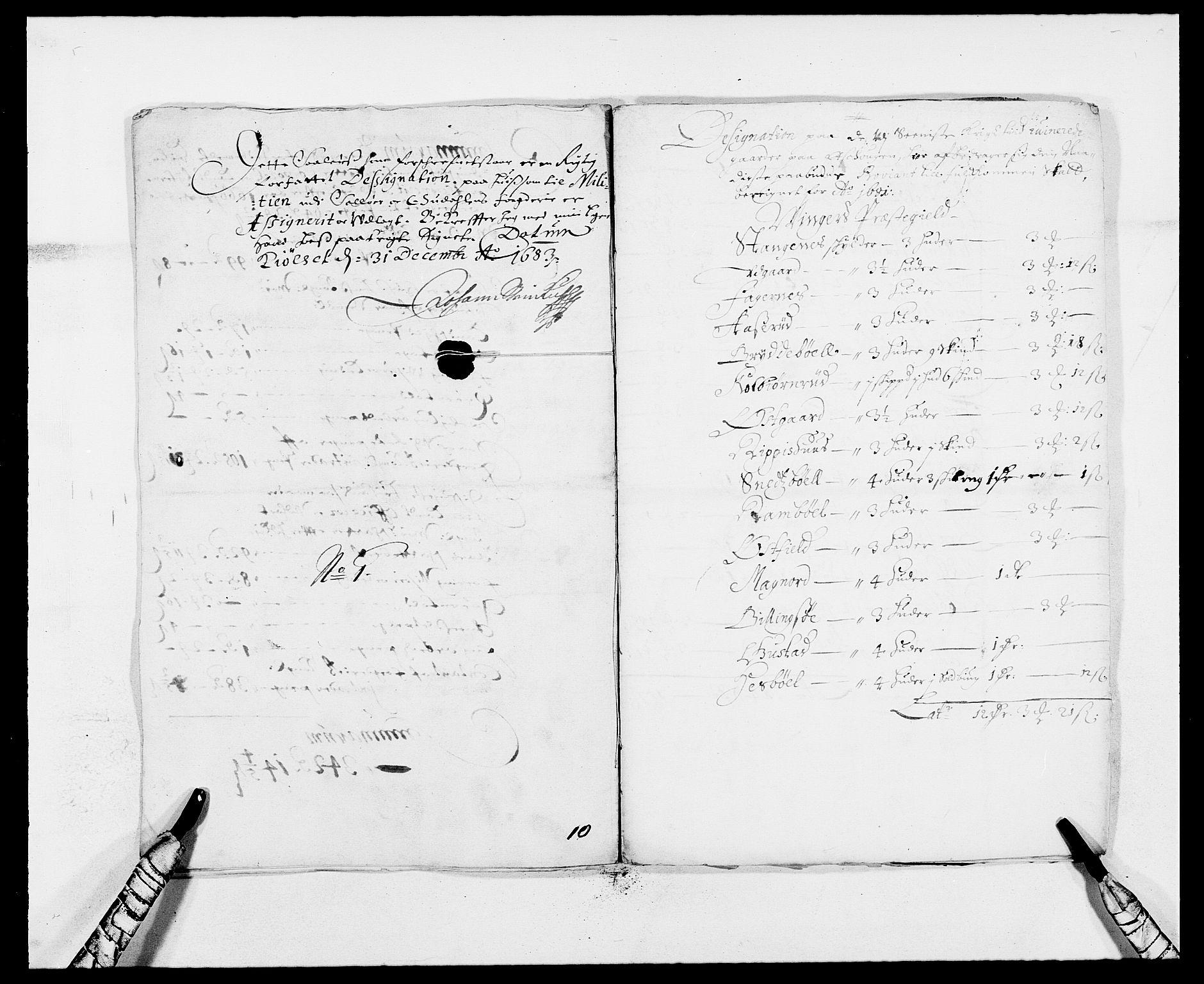 RA, Rentekammeret inntil 1814, Reviderte regnskaper, Fogderegnskap, R13/L0820: Fogderegnskap Solør, Odal og Østerdal, 1683, s. 263