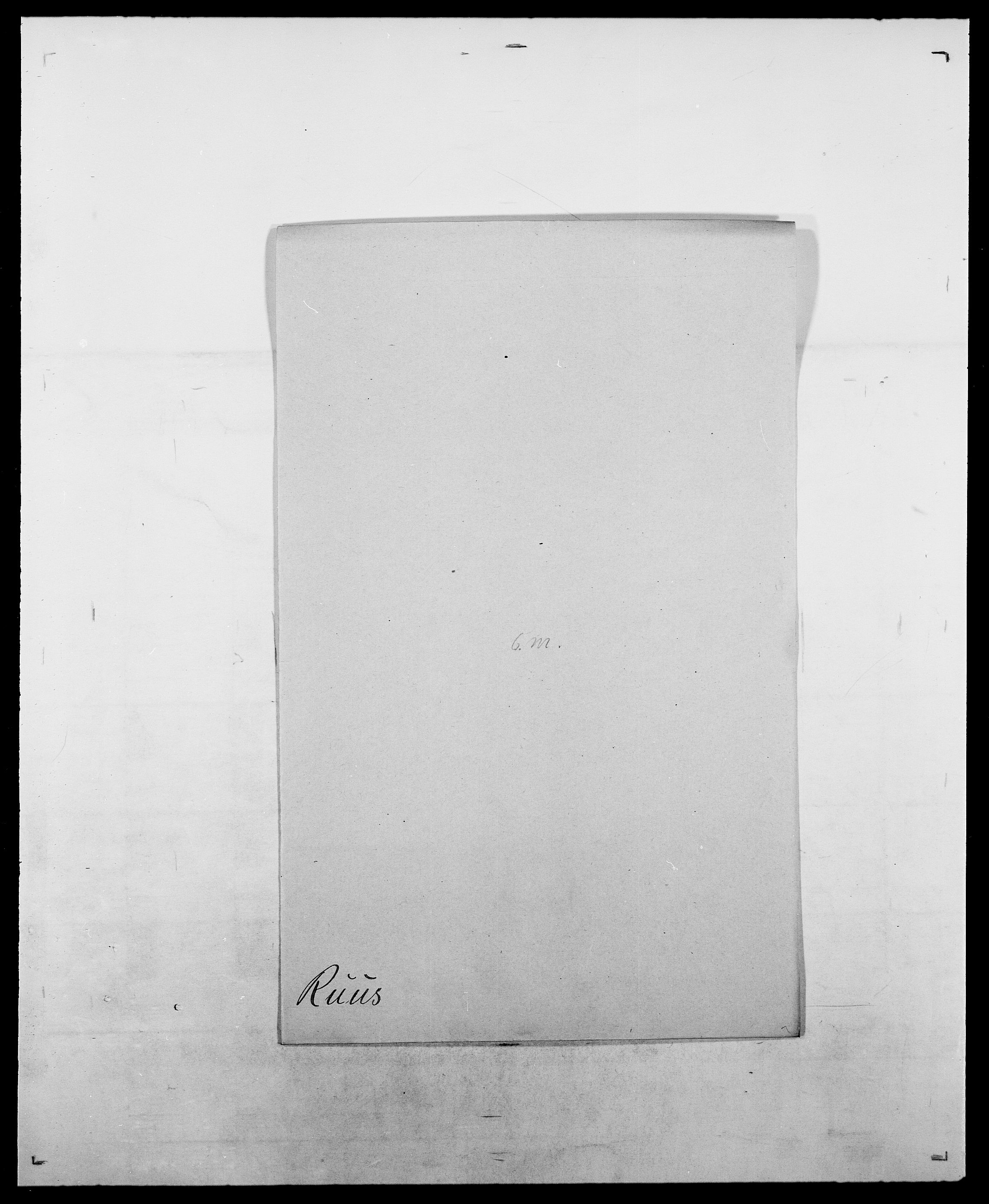 SAO, Delgobe, Charles Antoine - samling, D/Da/L0033: Roald - Røyem, s. 505
