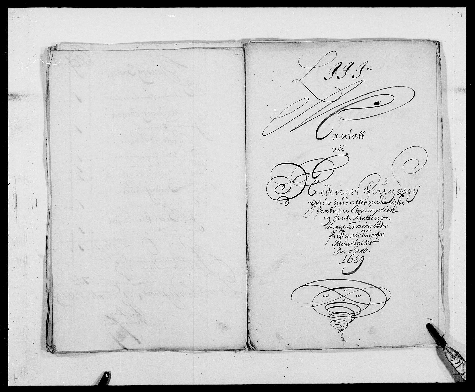 RA, Rentekammeret inntil 1814, Reviderte regnskaper, Fogderegnskap, R39/L2309: Fogderegnskap Nedenes, 1684-1689, s. 341