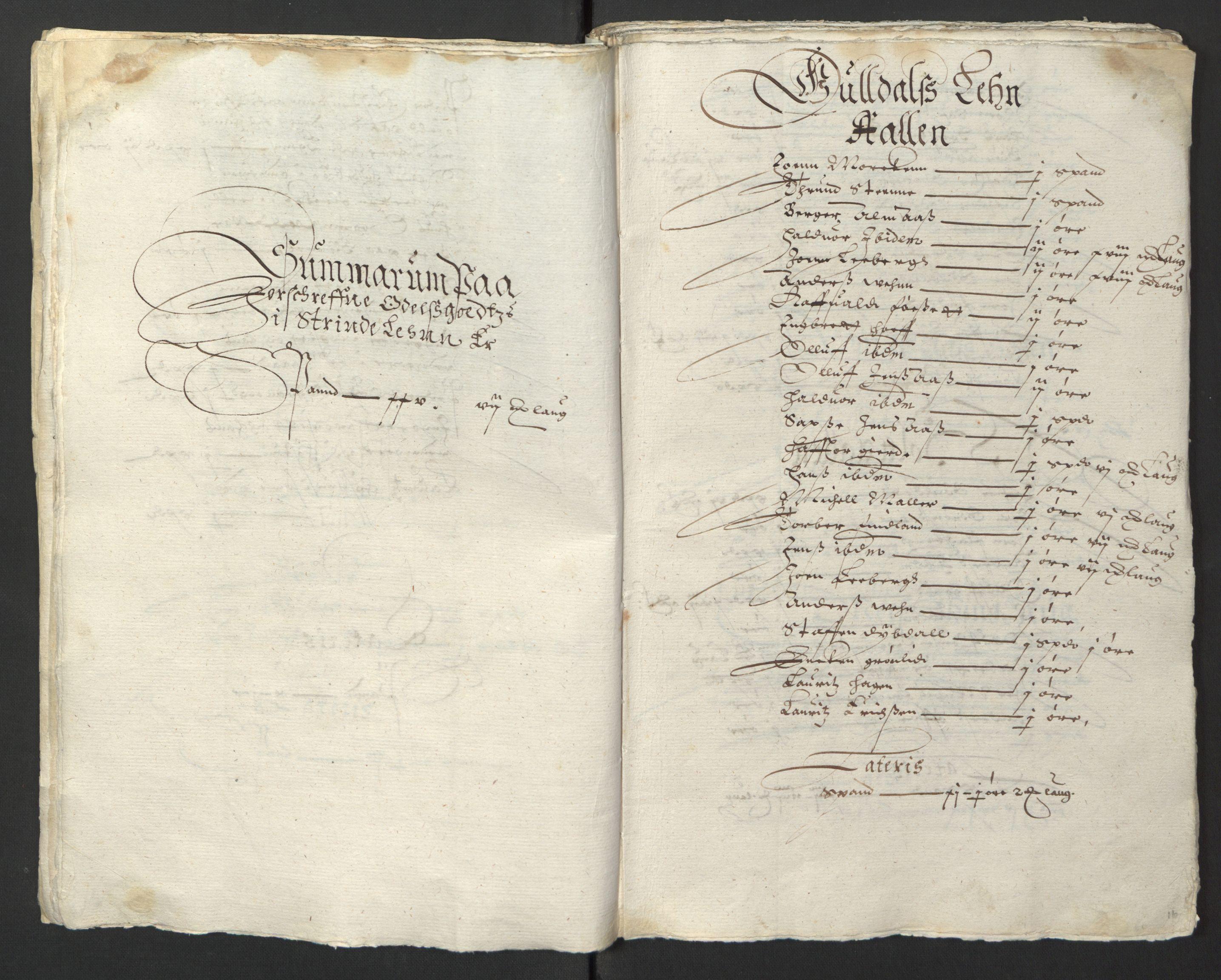 RA, Stattholderembetet 1572-1771, Ek/L0013: Jordebøker til utlikning av rosstjeneste 1624-1626:, 1624-1625, s. 19