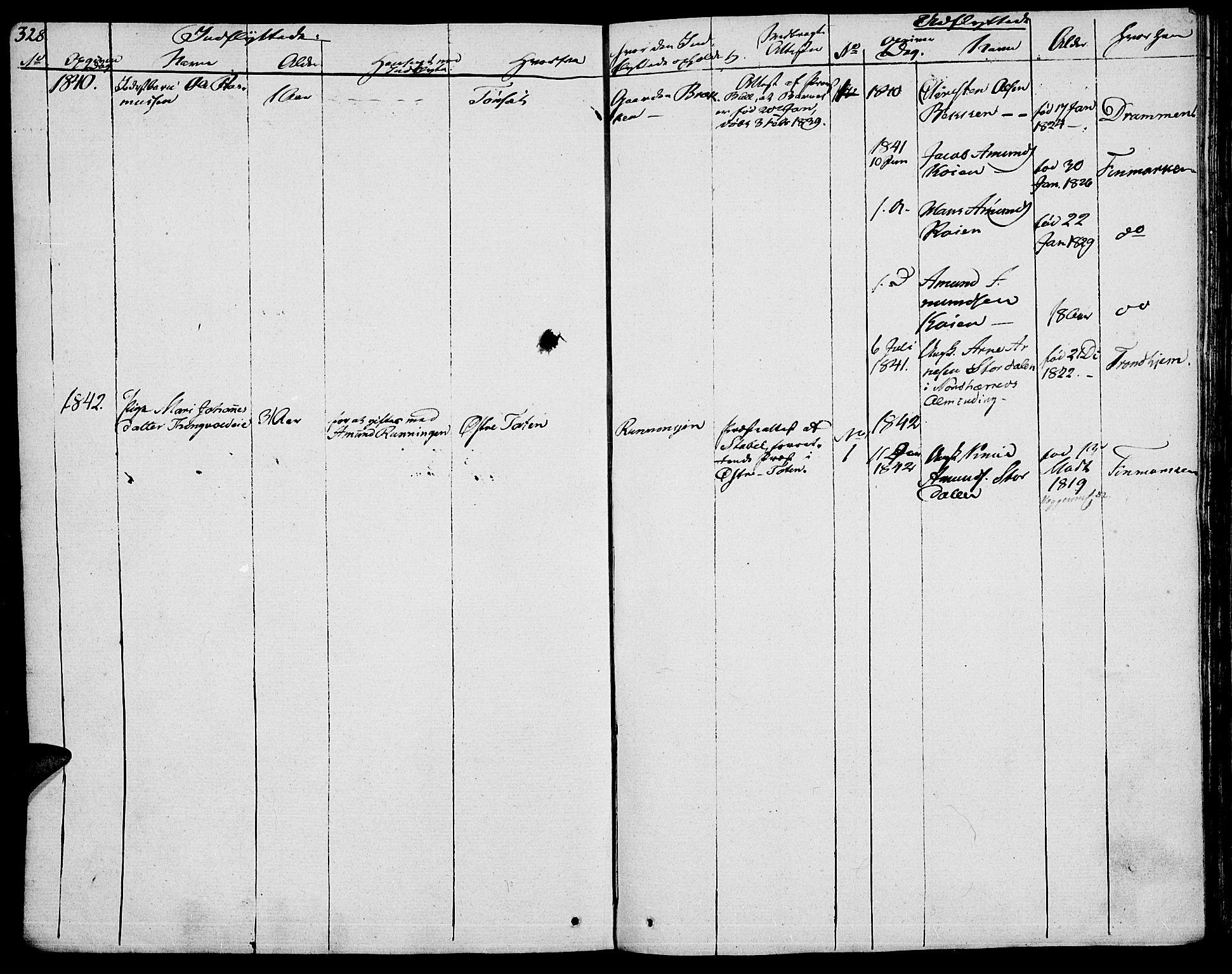 SAH, Vågå prestekontor, Ministerialbok nr. 4 /1, 1827-1842, s. 328