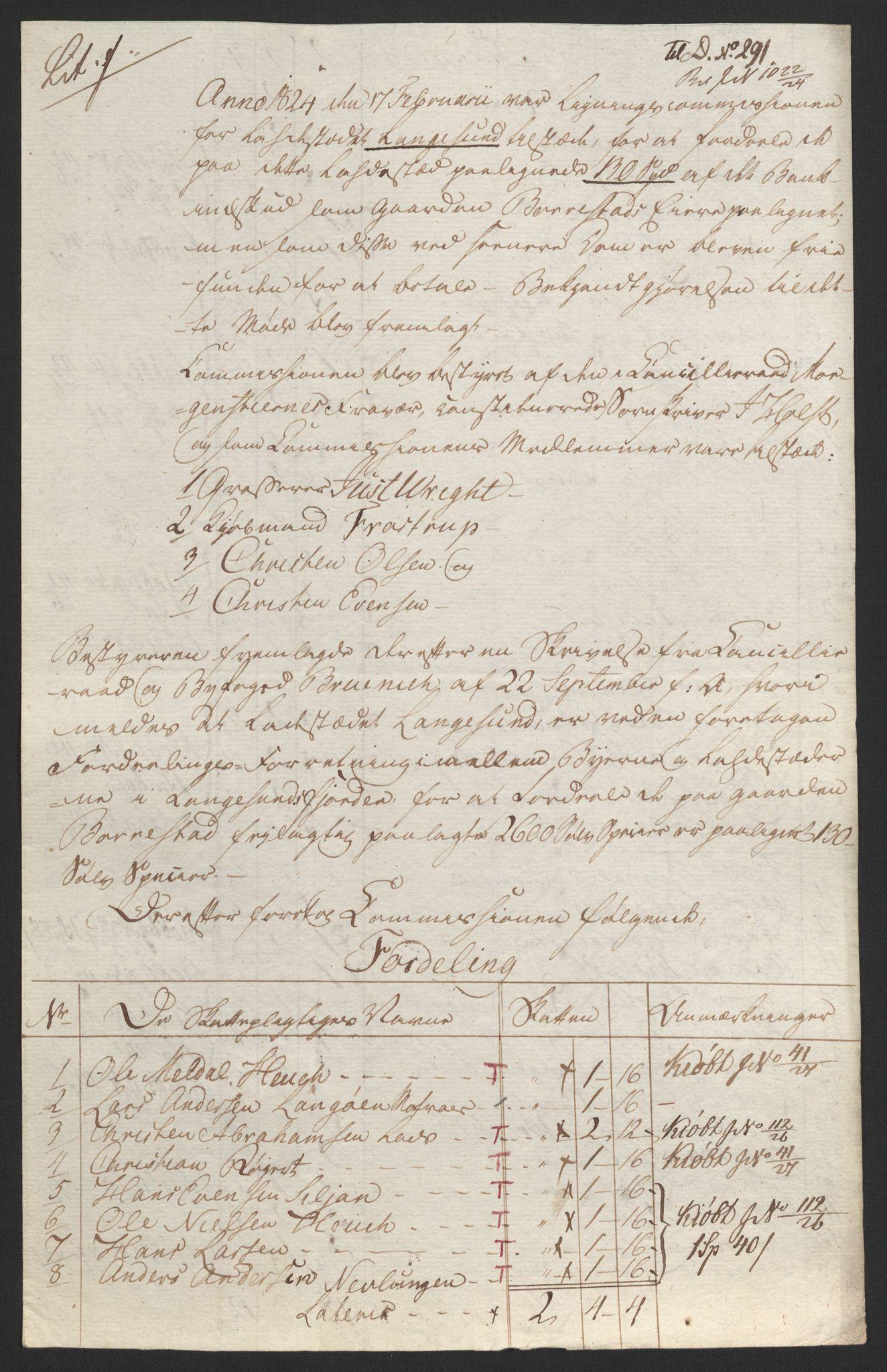 NOBA, Norges Bank/Sølvskatten 1816*, 1816-1824, s. 134