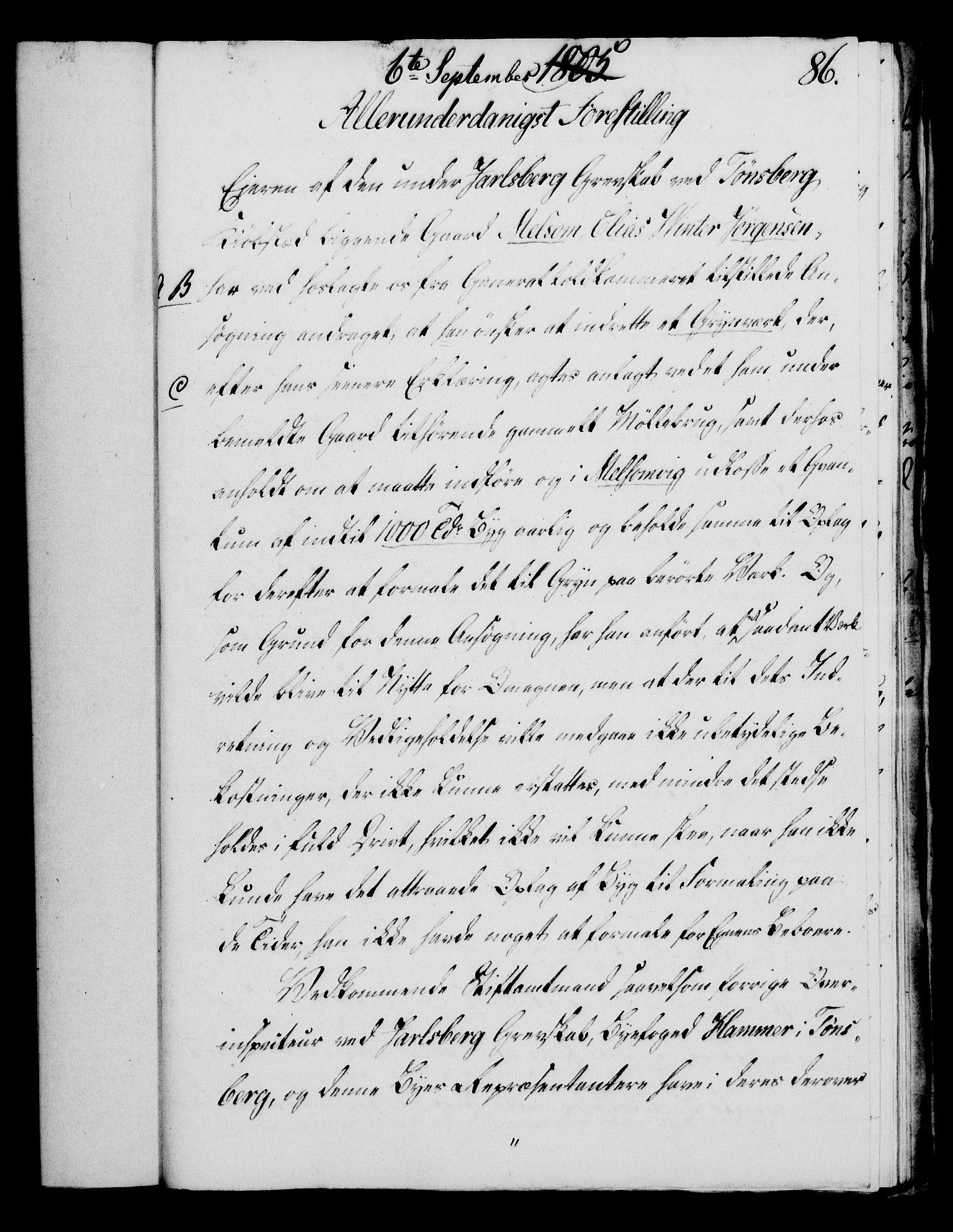 RA, Rentekammeret, Kammerkanselliet, G/Gf/Gfa/L0087: Norsk relasjons- og resolusjonsprotokoll (merket RK 52.87), 1805, s. 472
