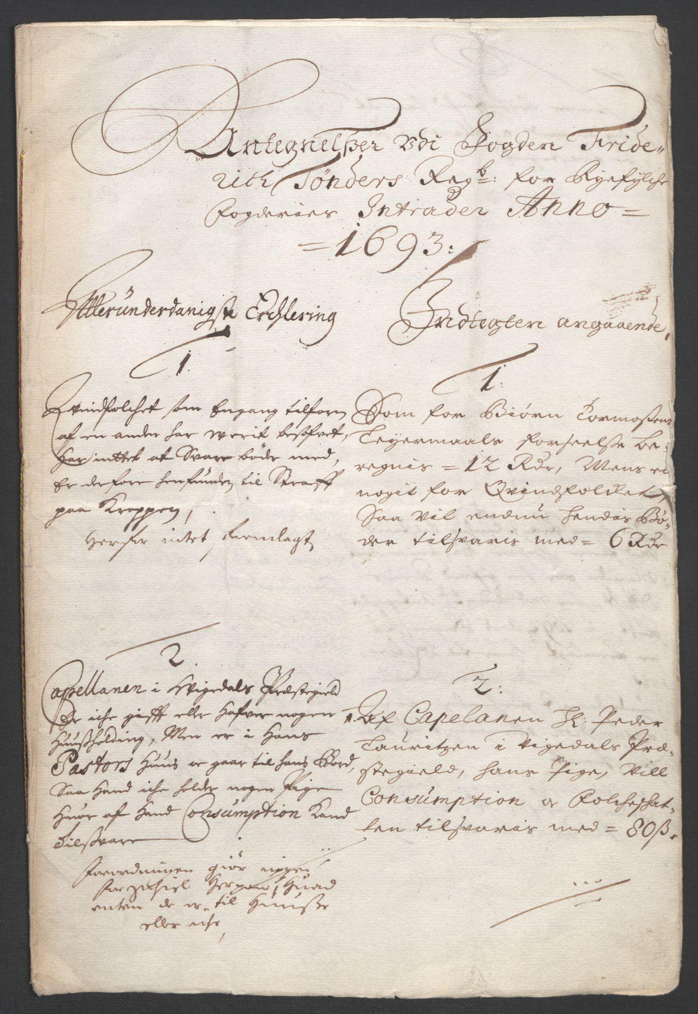 RA, Rentekammeret inntil 1814, Reviderte regnskaper, Fogderegnskap, R47/L2856: Fogderegnskap Ryfylke, 1689-1693, s. 667