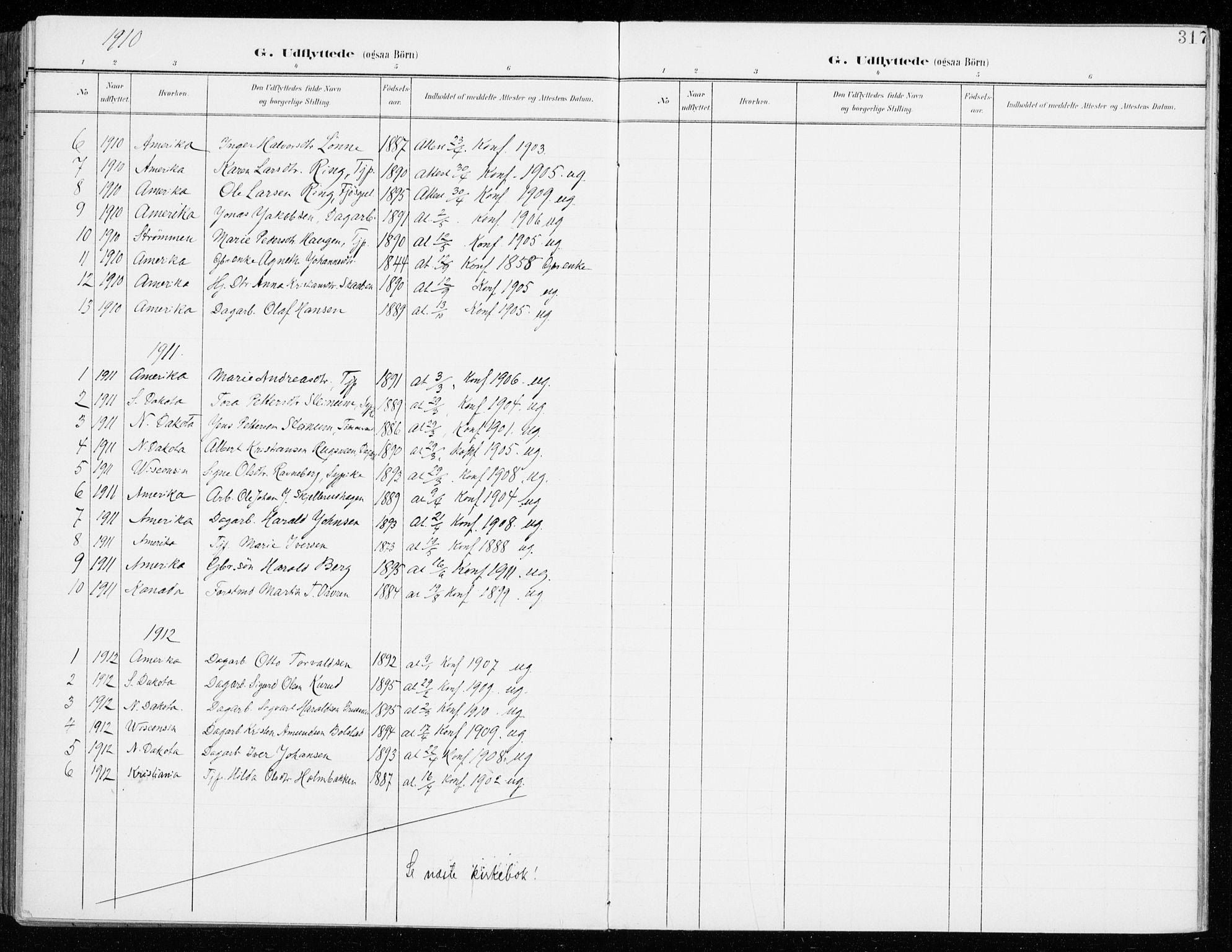 SAH, Fåberg prestekontor, Ministerialbok nr. 11, 1899-1913, s. 317