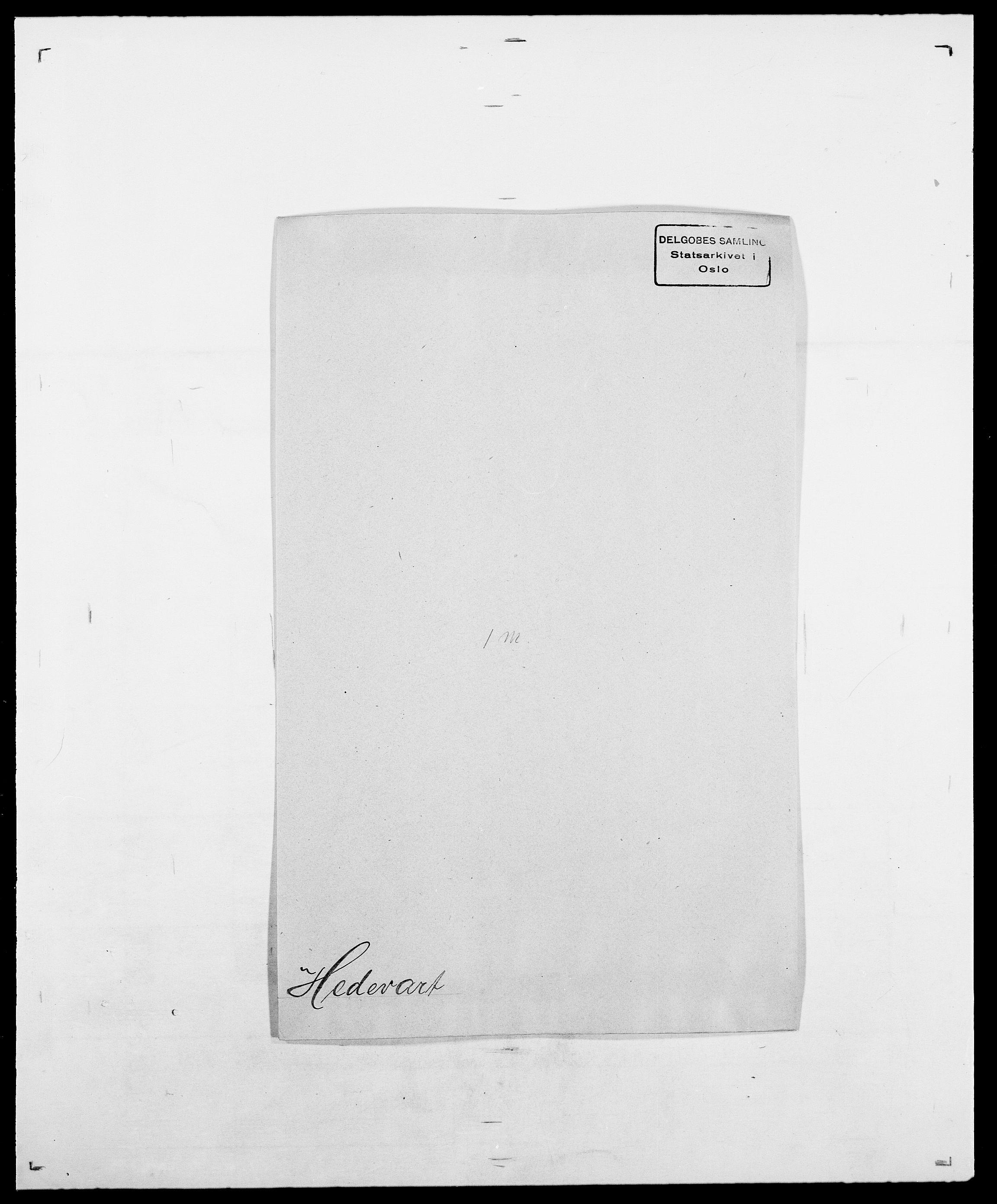 SAO, Delgobe, Charles Antoine - samling, D/Da/L0016: Hamborg - Hektoen, s. 675