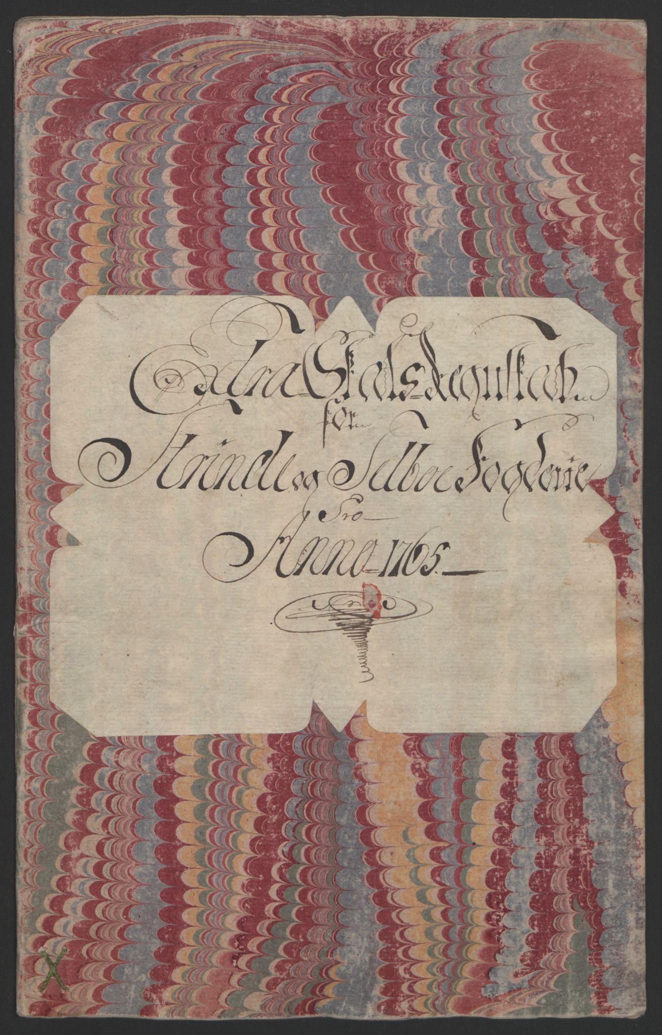 RA, Rentekammeret inntil 1814, Reviderte regnskaper, Fogderegnskap, R61/L4180: Ekstraskatten Strinda og Selbu, 1762-1767, s. 69