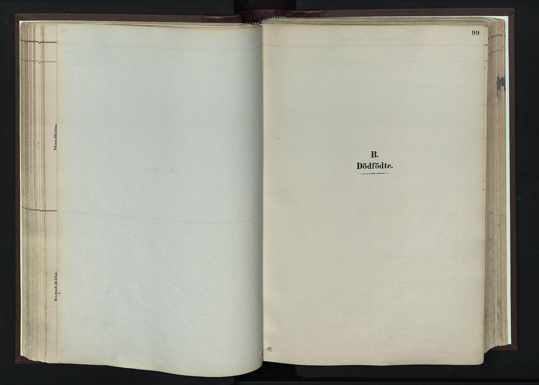 SAH, Nord-Fron prestekontor, Ministerialbok nr. 4, 1884-1914, s. 99
