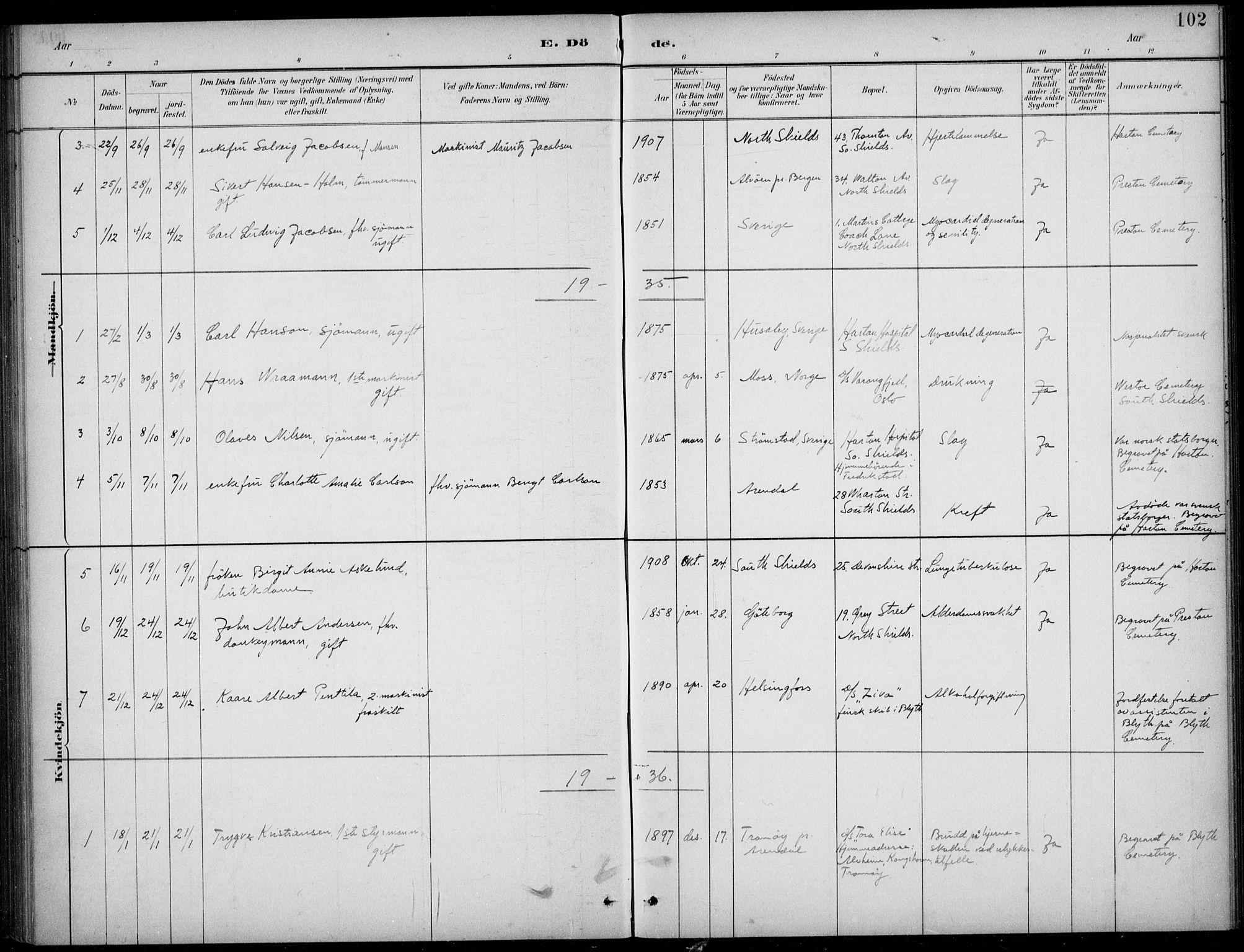 SAB, Den Norske Sjømannsmisjon i utlandet*, Ministerialbok nr. A 2, 1883-1936, s. 102