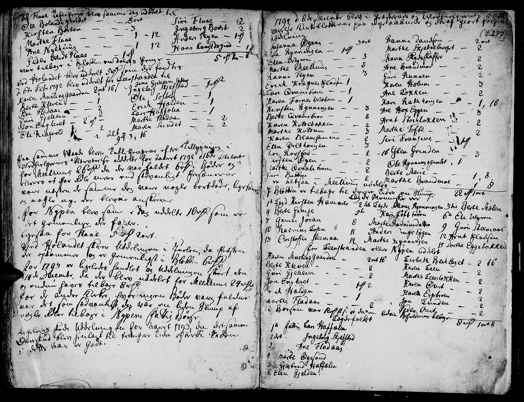 SAT, Ministerialprotokoller, klokkerbøker og fødselsregistre - Sør-Trøndelag, 691/L1061: Ministerialbok nr. 691A02 /1, 1768-1815, s. 277