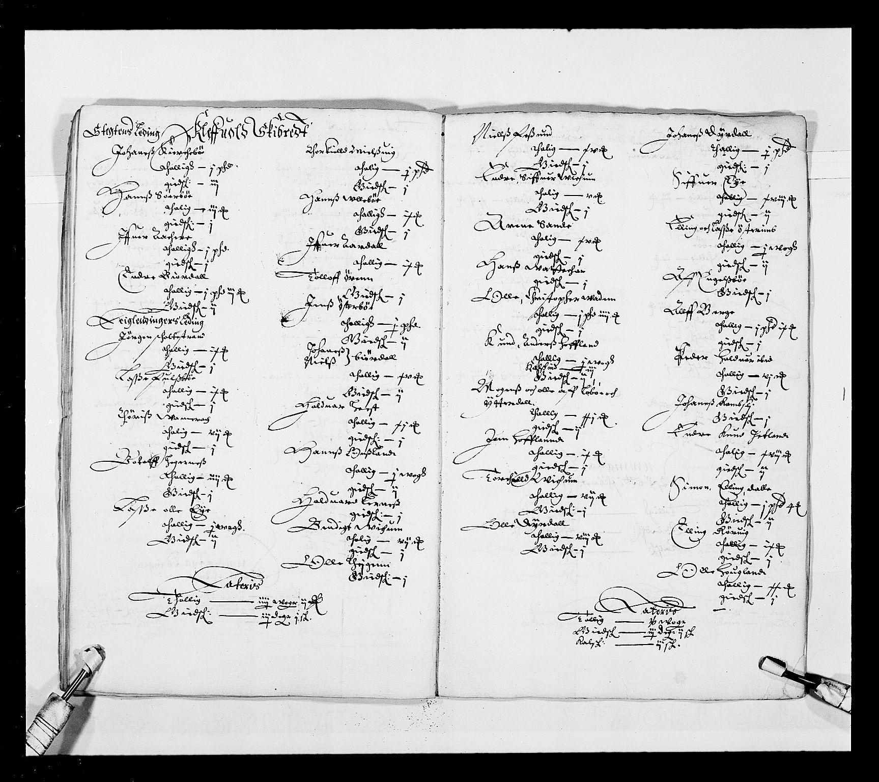 RA, Stattholderembetet 1572-1771, Ek/L0025: Jordebøker 1633-1658:, 1645-1646, s. 133