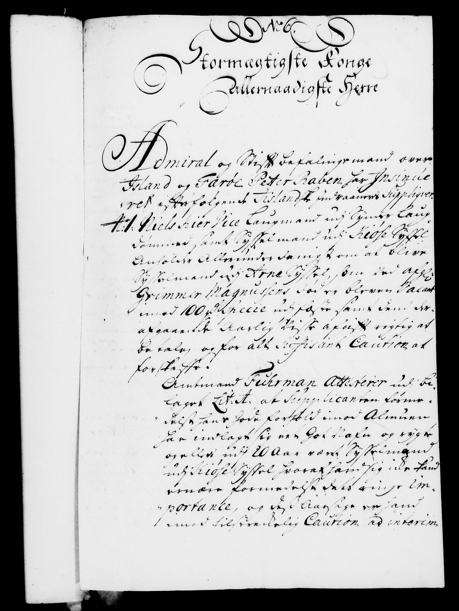 RA, Rentekammeret, Kammerkanselliet, G/Gf/Gfa/L0007: Norsk relasjons- og resolusjonsprotokoll (merket RK 52.7), 1724, s. 117